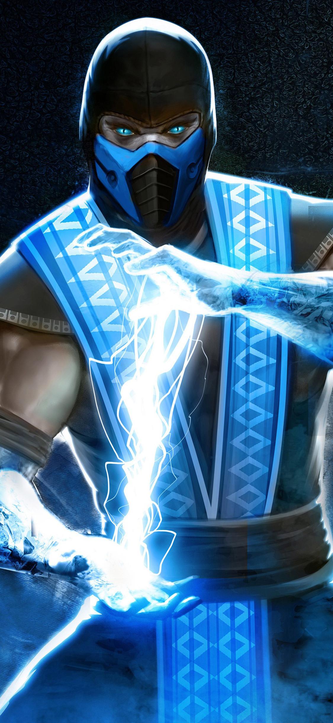 1125x2436 Sub Zero In Mortal Kombat 4k Iphone XS,Iphone 10 ...