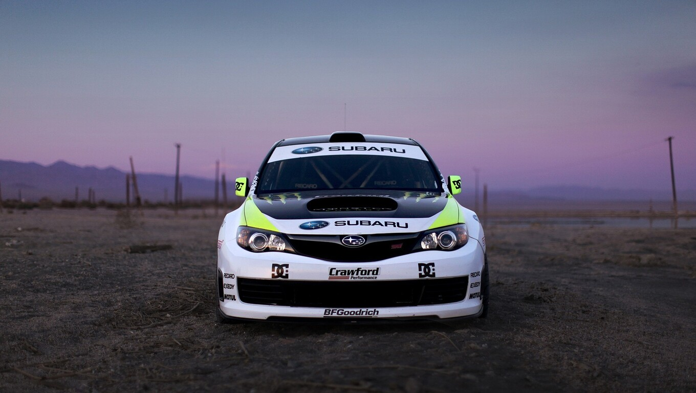 1360x768 Subaru Rally Car Laptop Hd Hd 4k Wallpapers Images