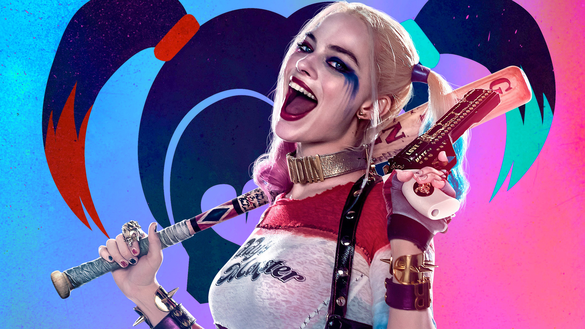 1920x1080 Suicide Squad Harley Quinn Laptop Full HD 1080P
