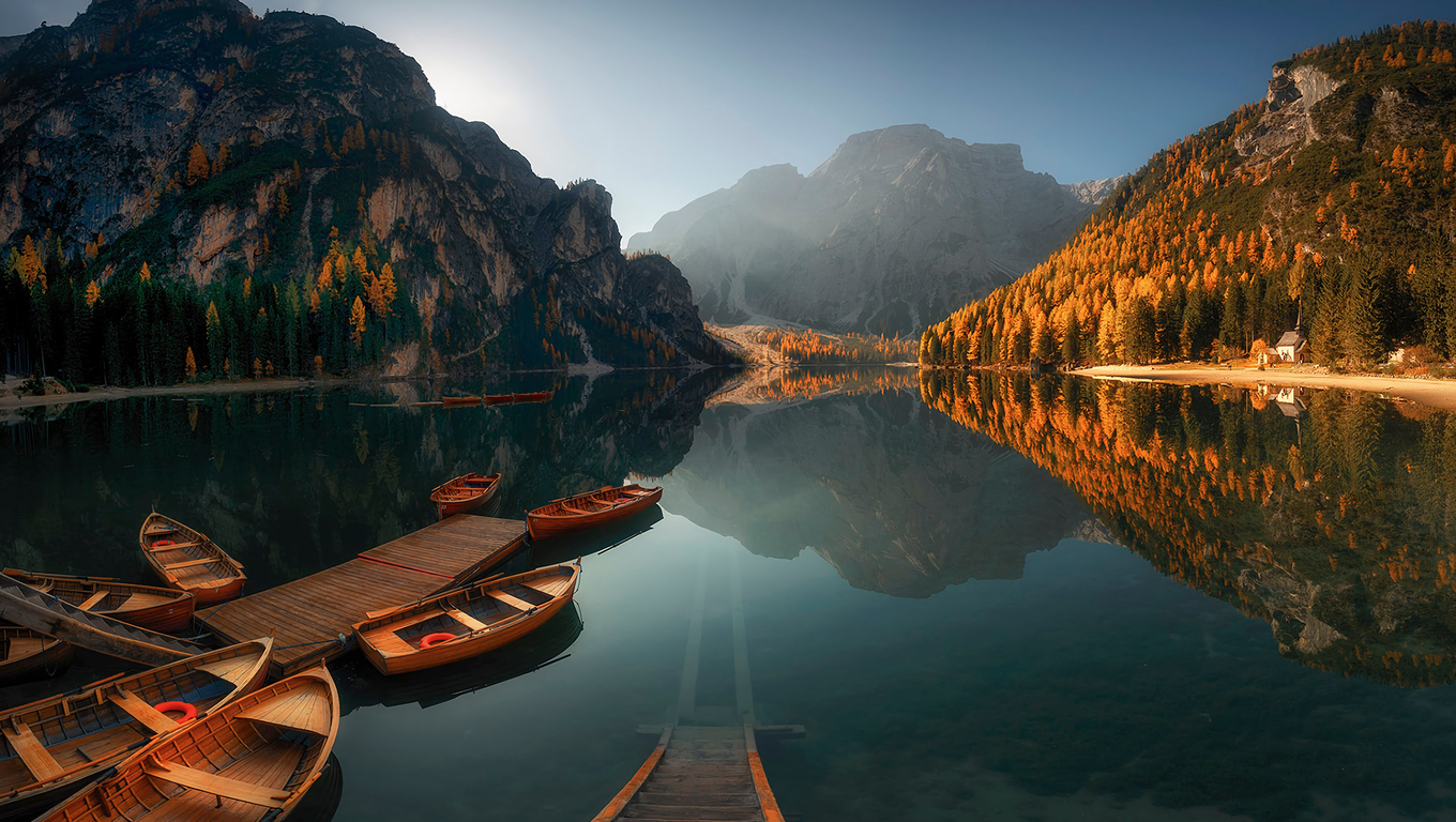 1360x768 Sun Ray Boat Reflection Landscape Laptop Hd Hd 4k Wallpapers Images Backgrounds Photos And Pictures