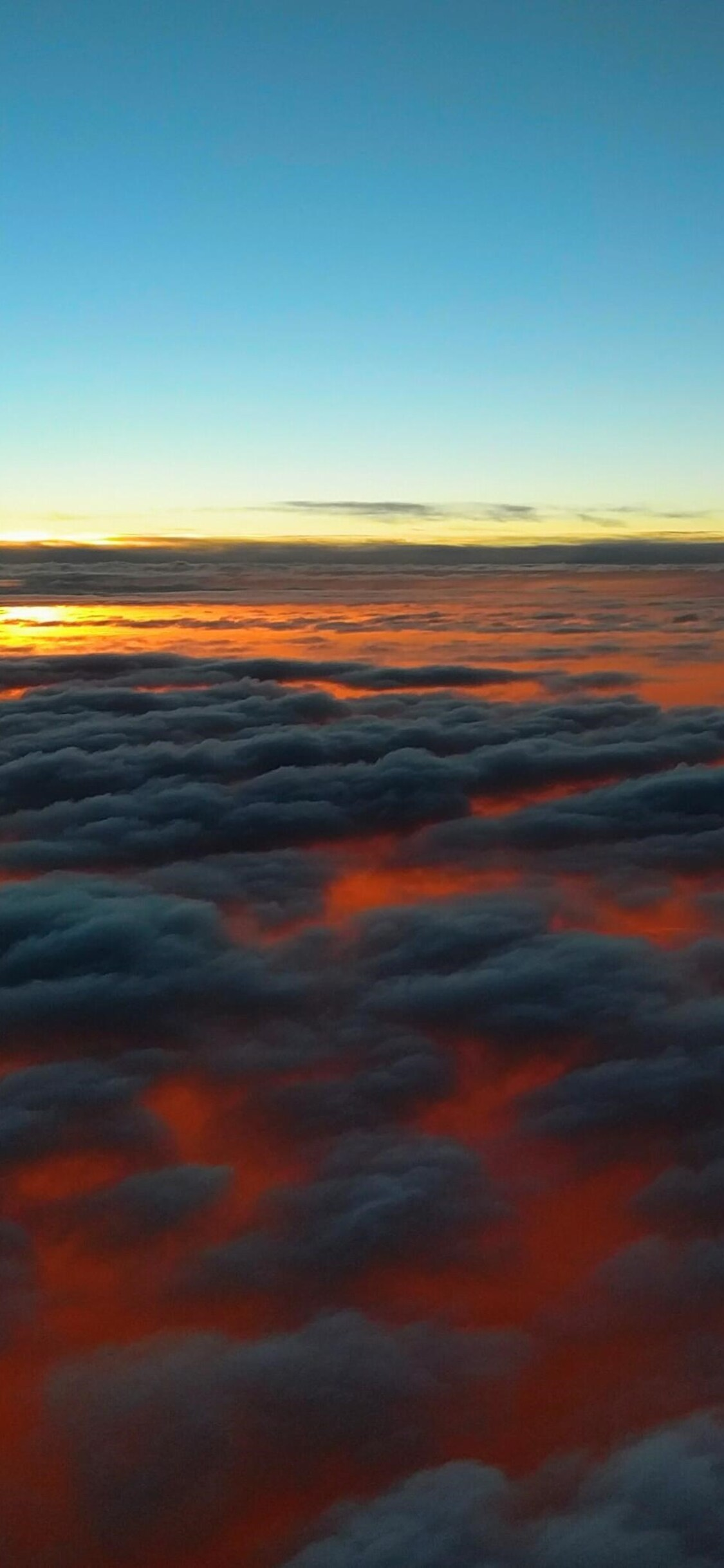 1125x2436 Sunset Above Clouds Iphone Xs Iphone 10 Iphone X