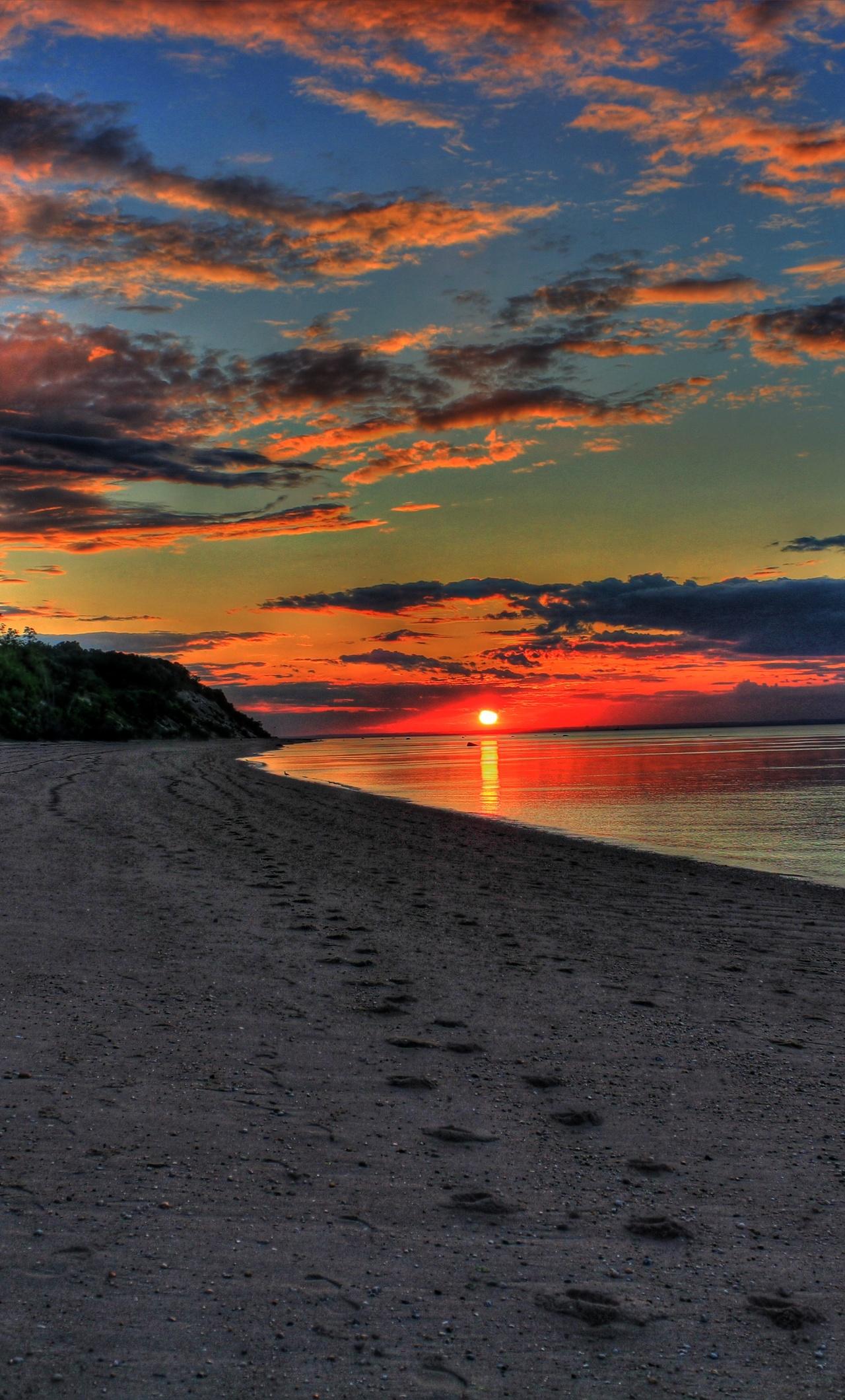 1280x2120 Sunset Island 5k iPhone 6+ HD 4k Wallpapers ...
