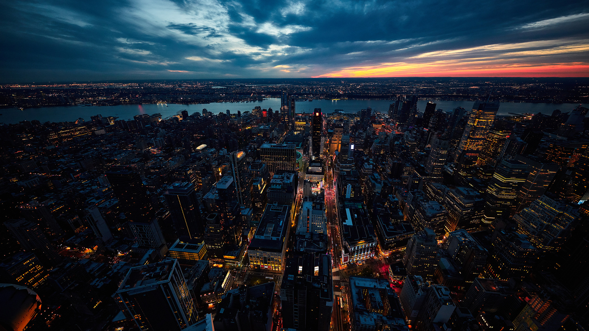 1920x1080 sunset new york city laptop full hd 1080p hd 4k wallpapers images backgrounds - Wallpaper 1080p new york ...