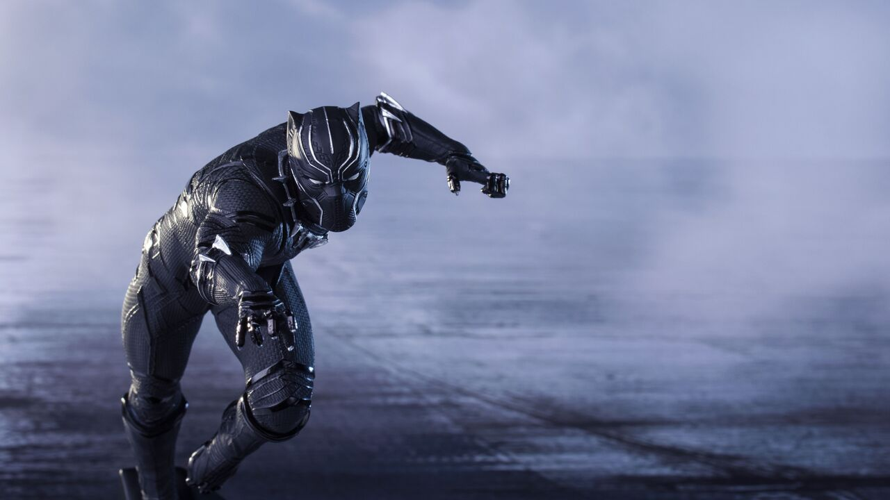 1280x720 super hero black panther 720p hd 4k wallpapers, images