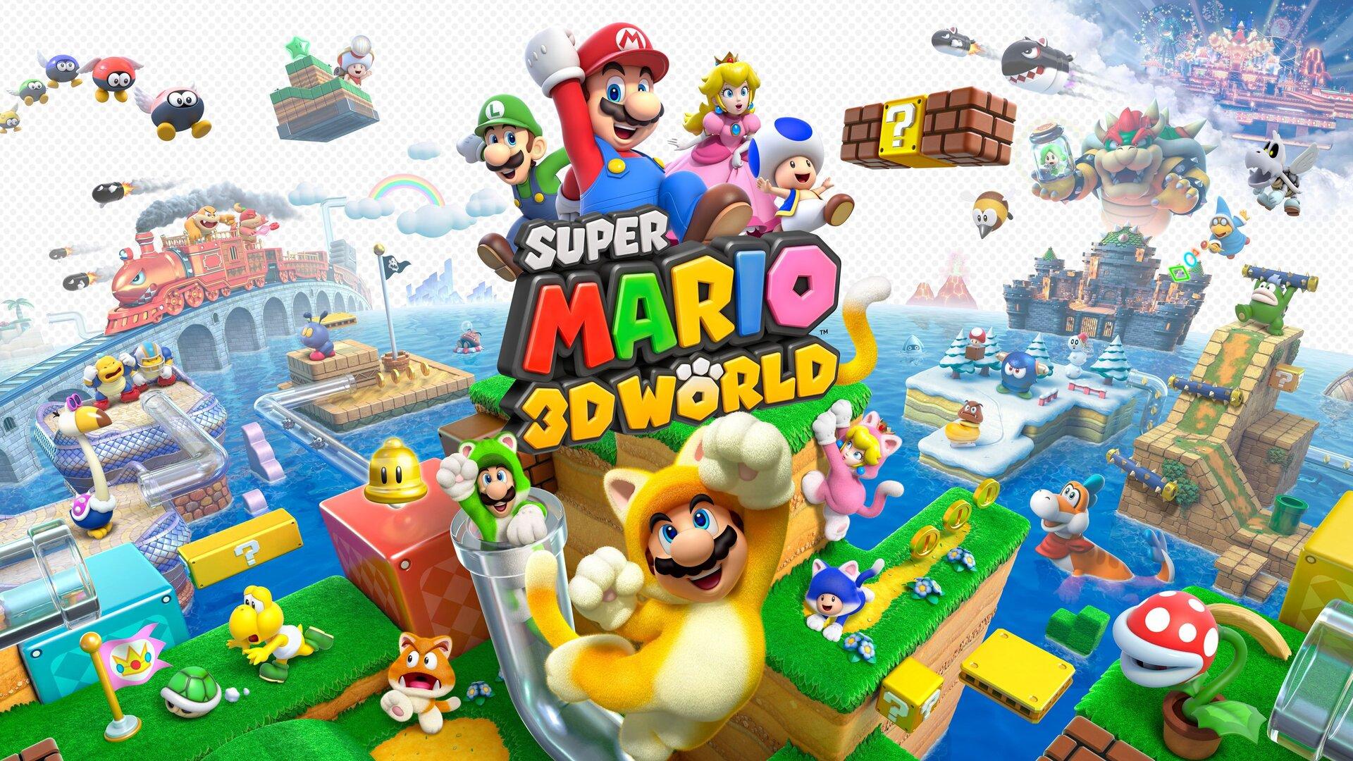 1920x1080 Super Mario 3d World Laptop Full Hd 1080p Hd 4k