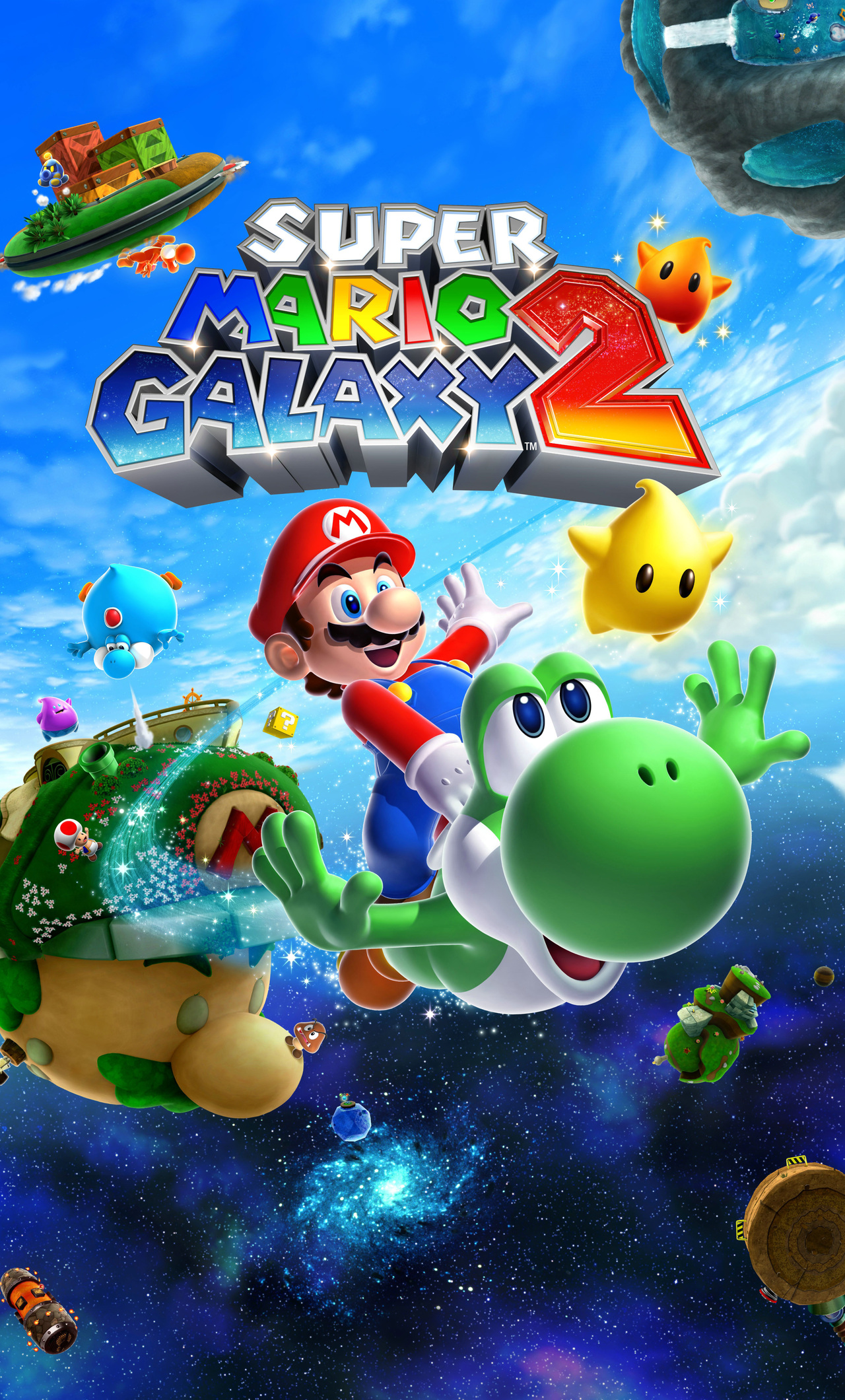 1280x2120 Super Mario Galaxy 2 Iphone 6 Hd 4k Wallpapers Images