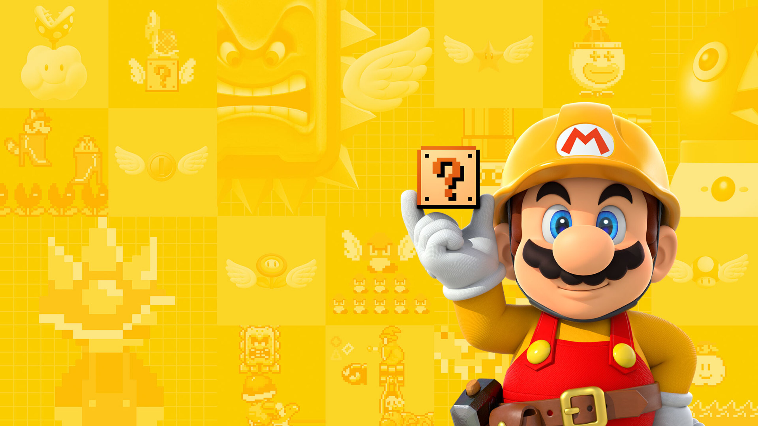 2560x1440 Super Mario Maker 1440P Resolution HD 4k