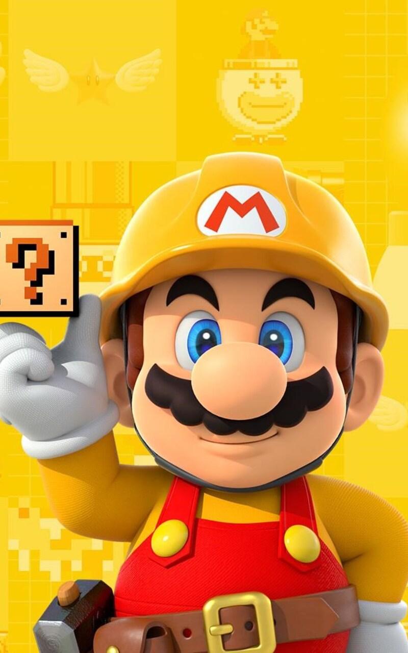 800x1280 Super Mario Maker Nexus 7 Samsung Galaxy Tab 10 Note