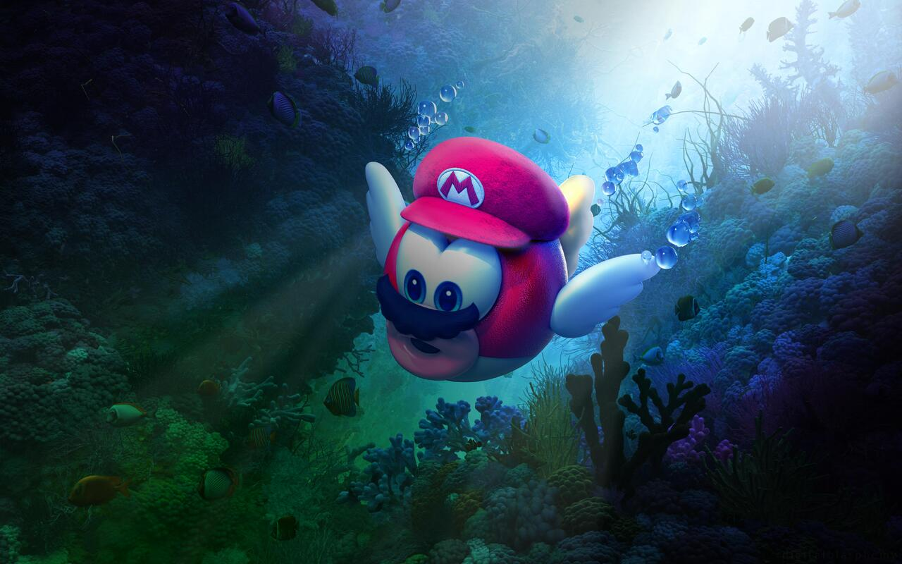 1280x800 Super Mario Odyssey 720p Hd 4k Wallpapers Images