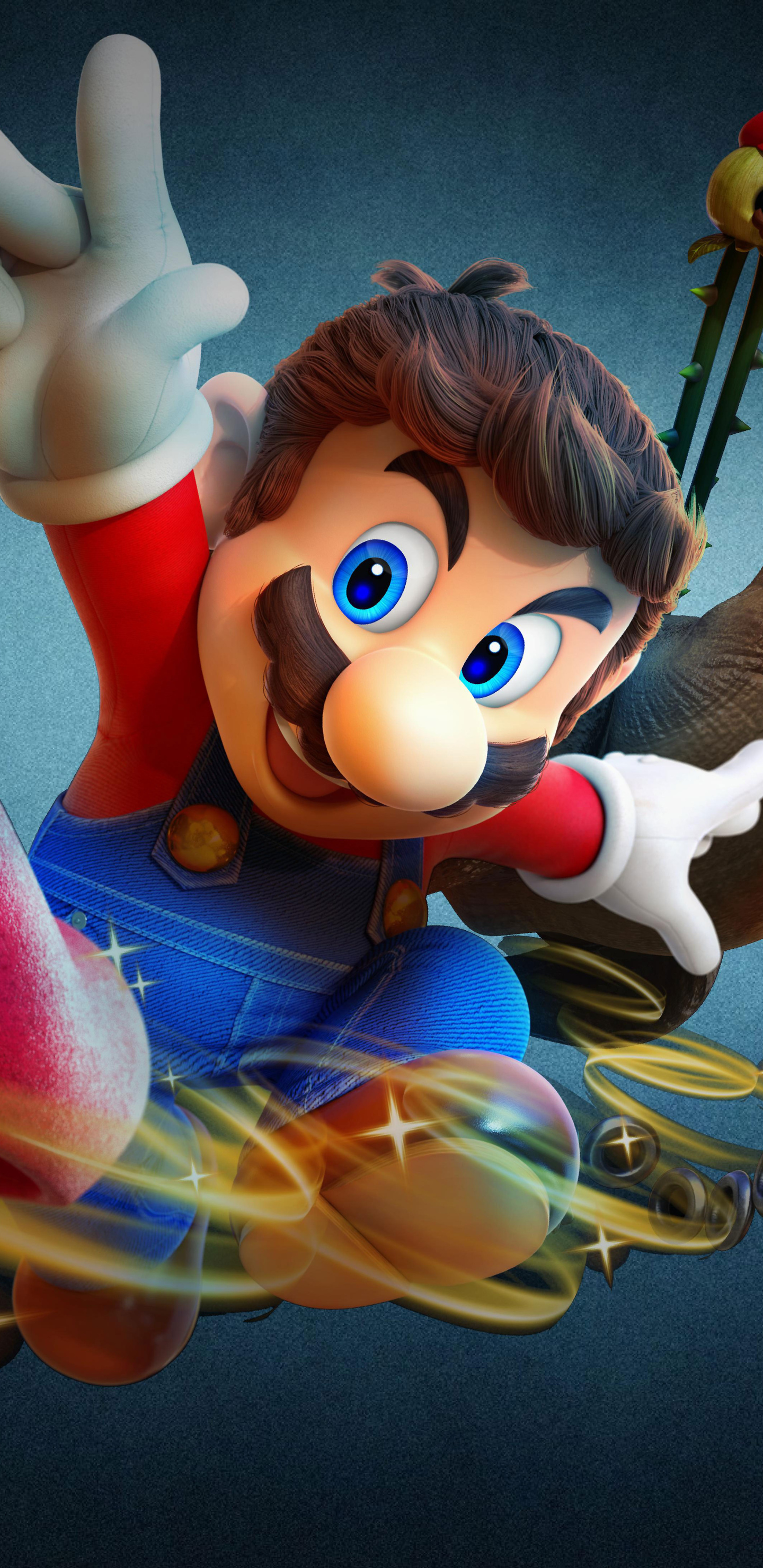 1440x2960 Super Mario Odyssey 8k Samsung Galaxy Note 9 8 S9 S8 S8