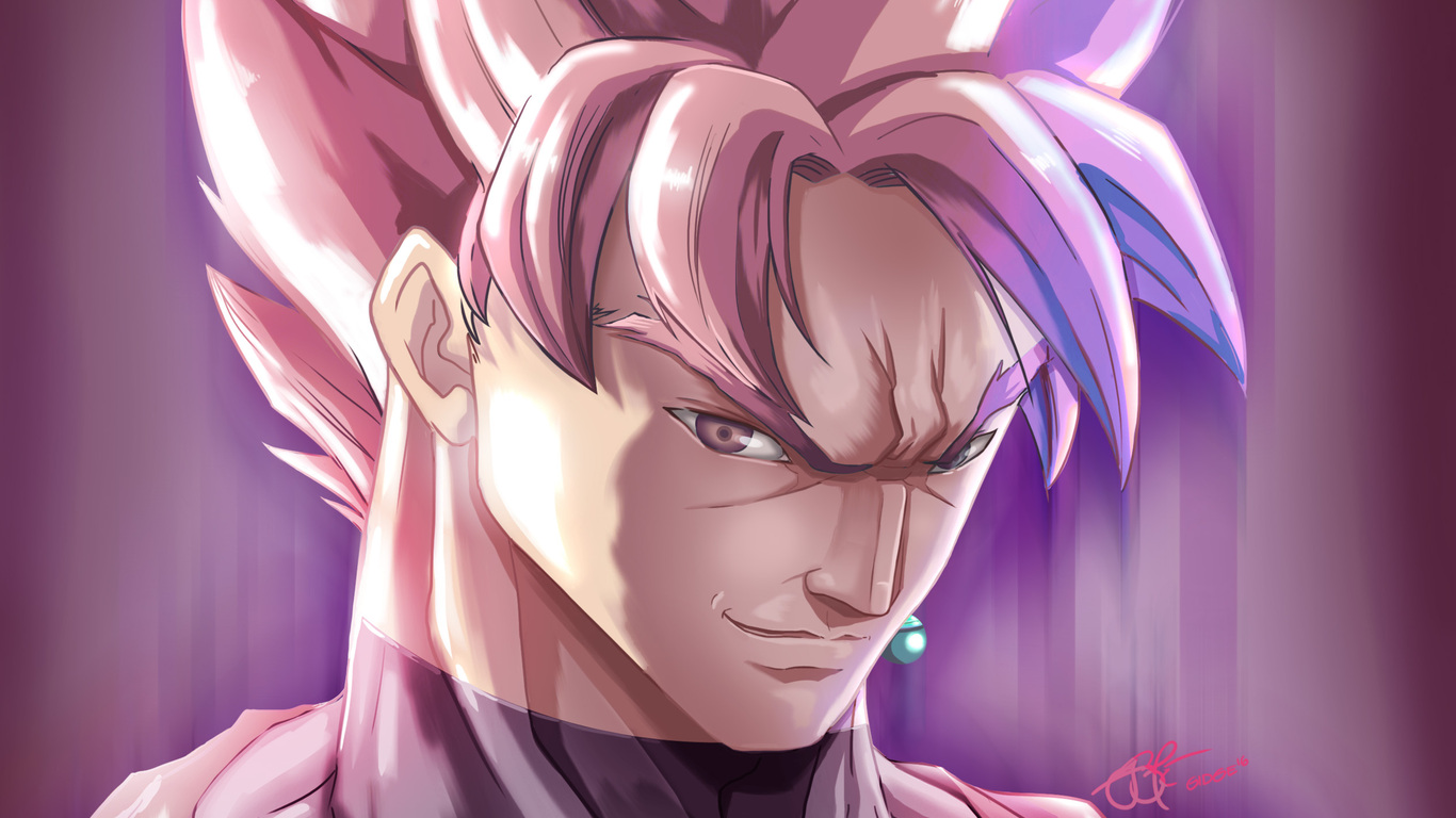 1366x768 Super Saiyan Rose Black 1366x768 Resolution Hd 4k Wallpapers Images Backgrounds Photos And Pictures
