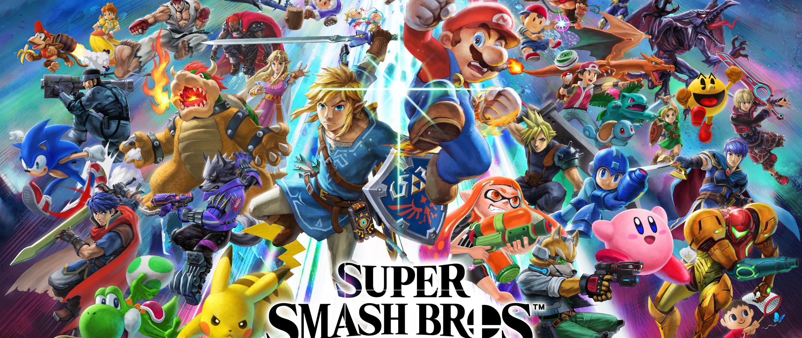 2560x1080 Super Smash Bros Ultimate 8k 2560x1080 ...