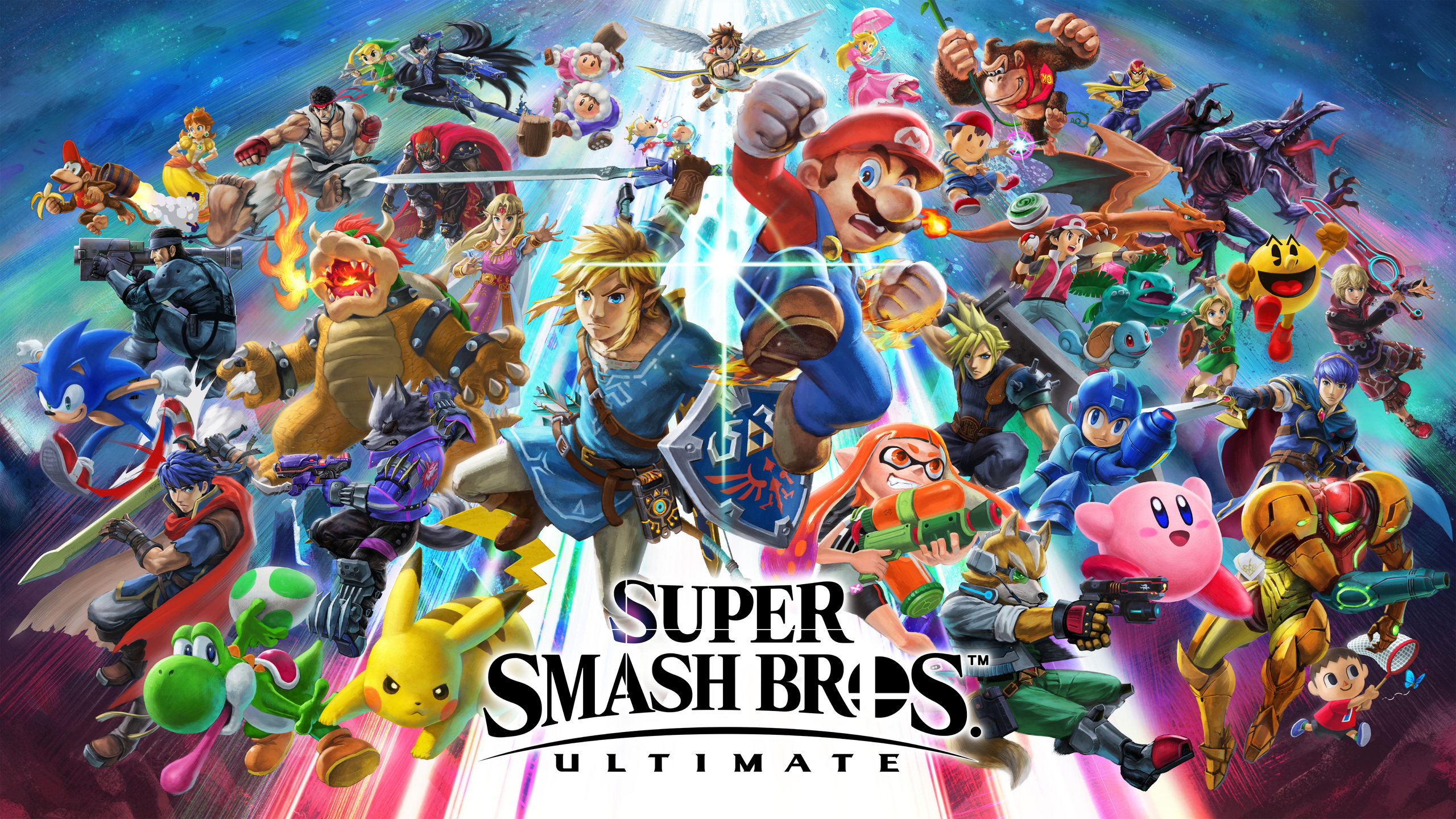 2560x1440 Super Smash Bros Ultimate 8k 1440P Resolution HD ...