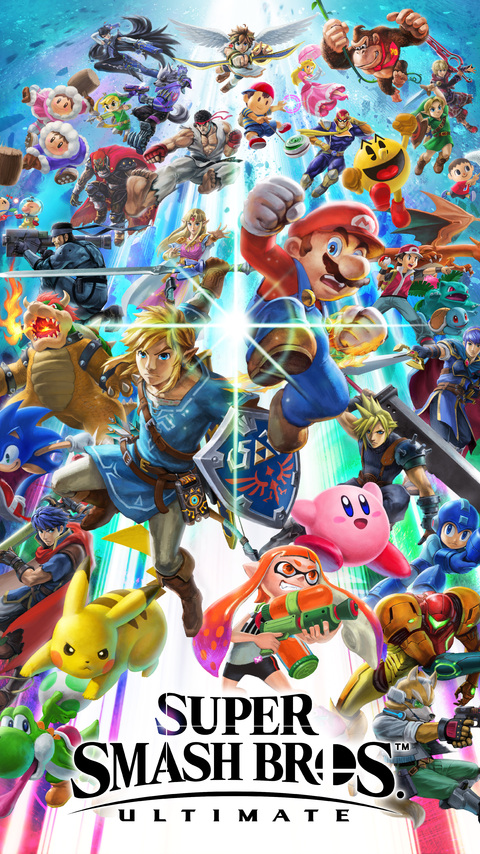 480x854 Super Smash Bros Ultimate 8k Android One Hd 4k Wallpapers