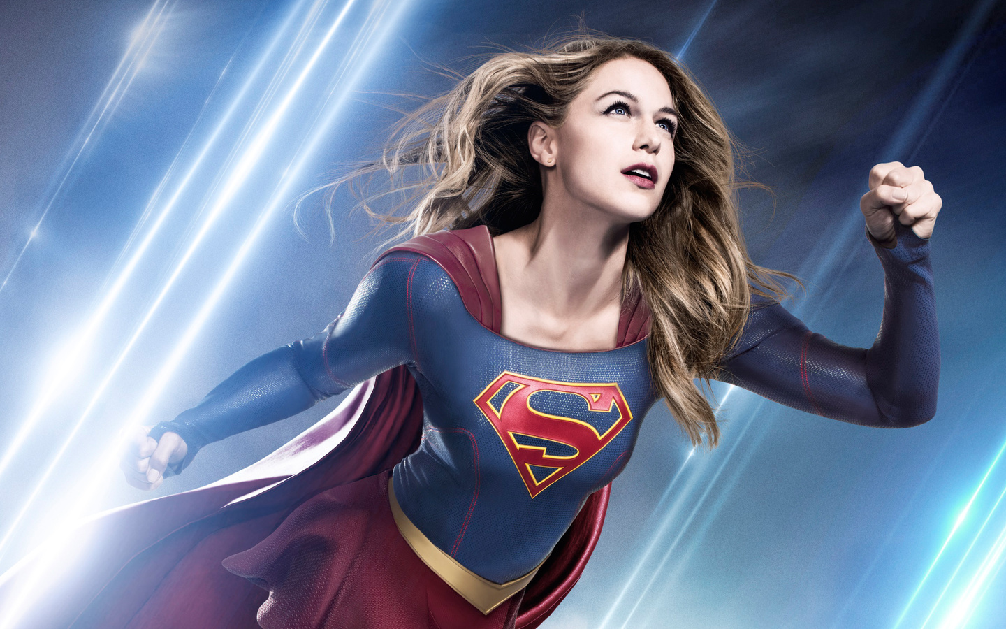 Download Wallpaper 1440x900 Supergirl, Kara danvers, Melissa ...