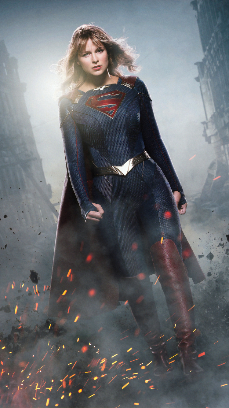 750x1334 Supergirl Season 5 New Suit Iphone 6 Iphone 6s