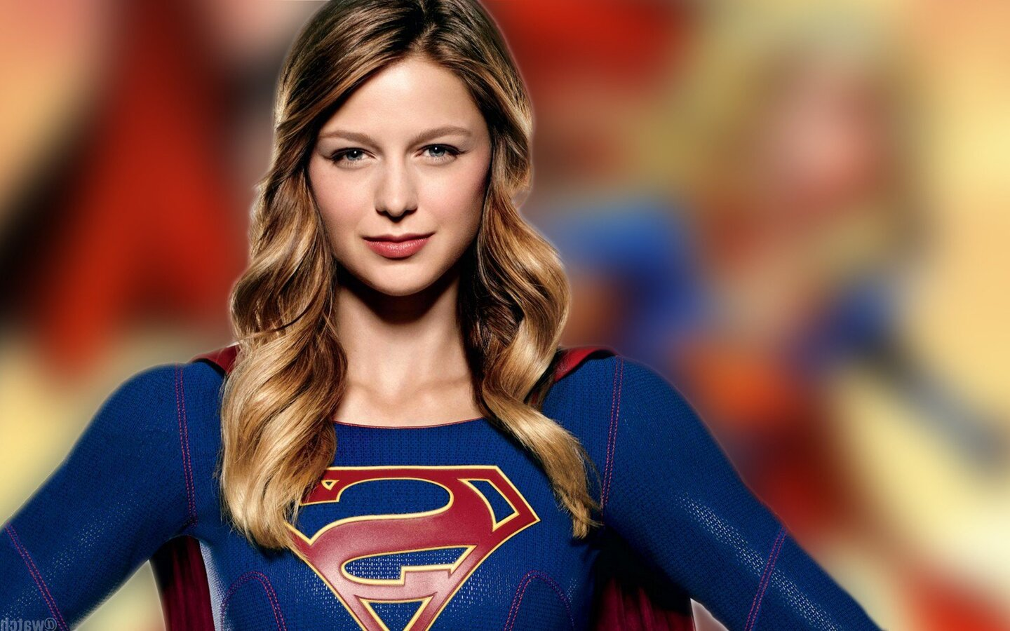 Download Supergirl Melissa Benoist Season 3 2017 1440x900 ...