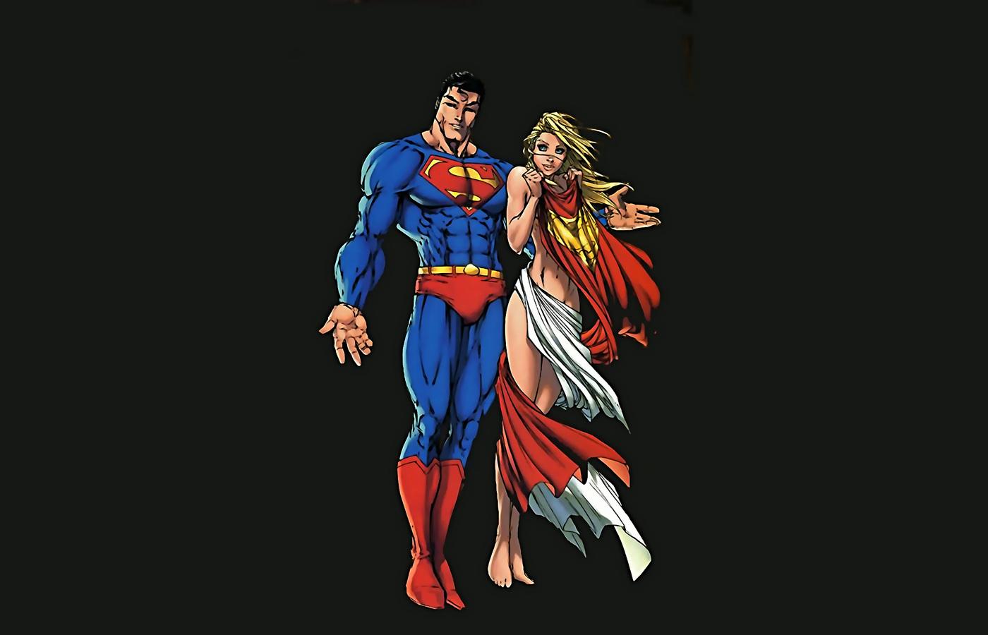 superman-and-supergirl-minimalism-artwork-3r.jpg