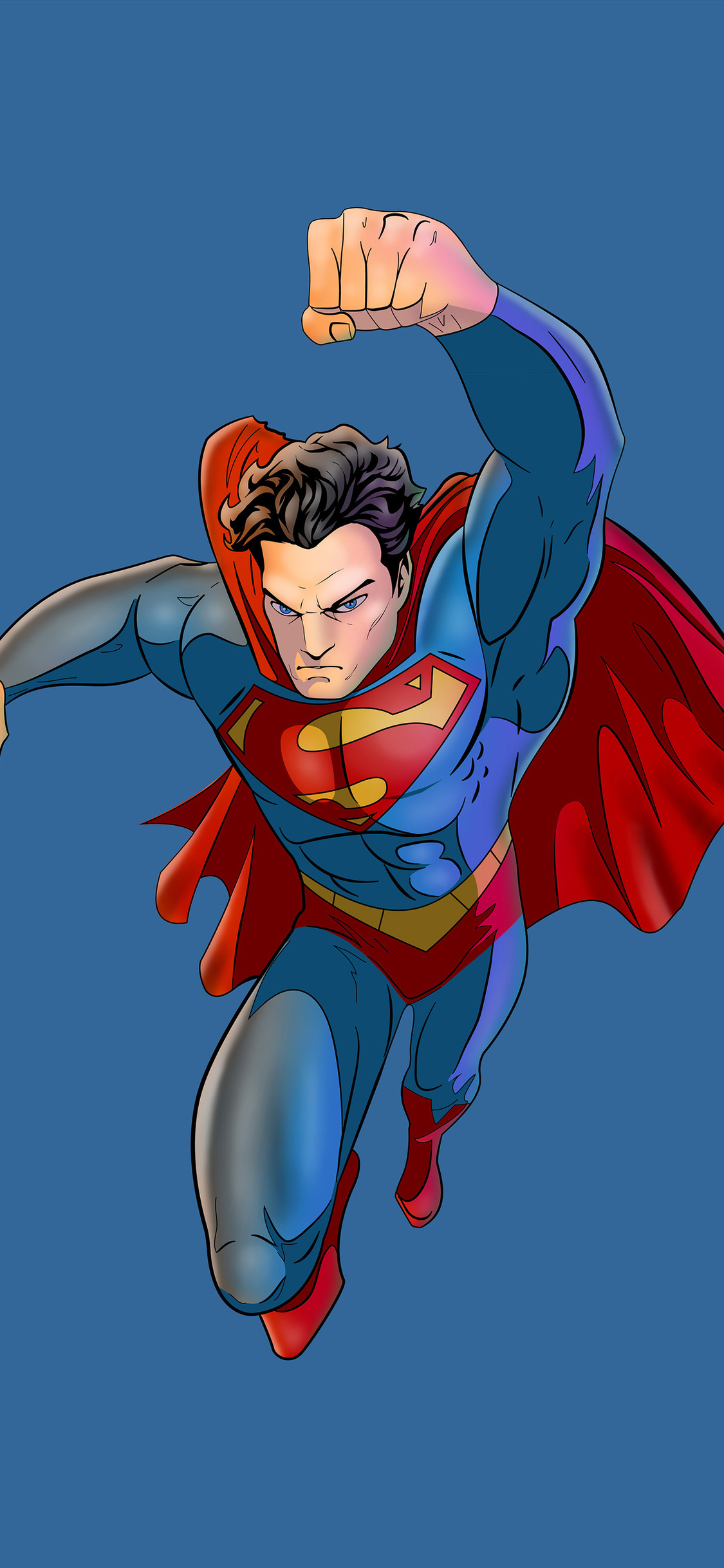 1125x2436 Superman Artwork 5k Iphone Xs Iphone 10 Iphone X Hd 4k