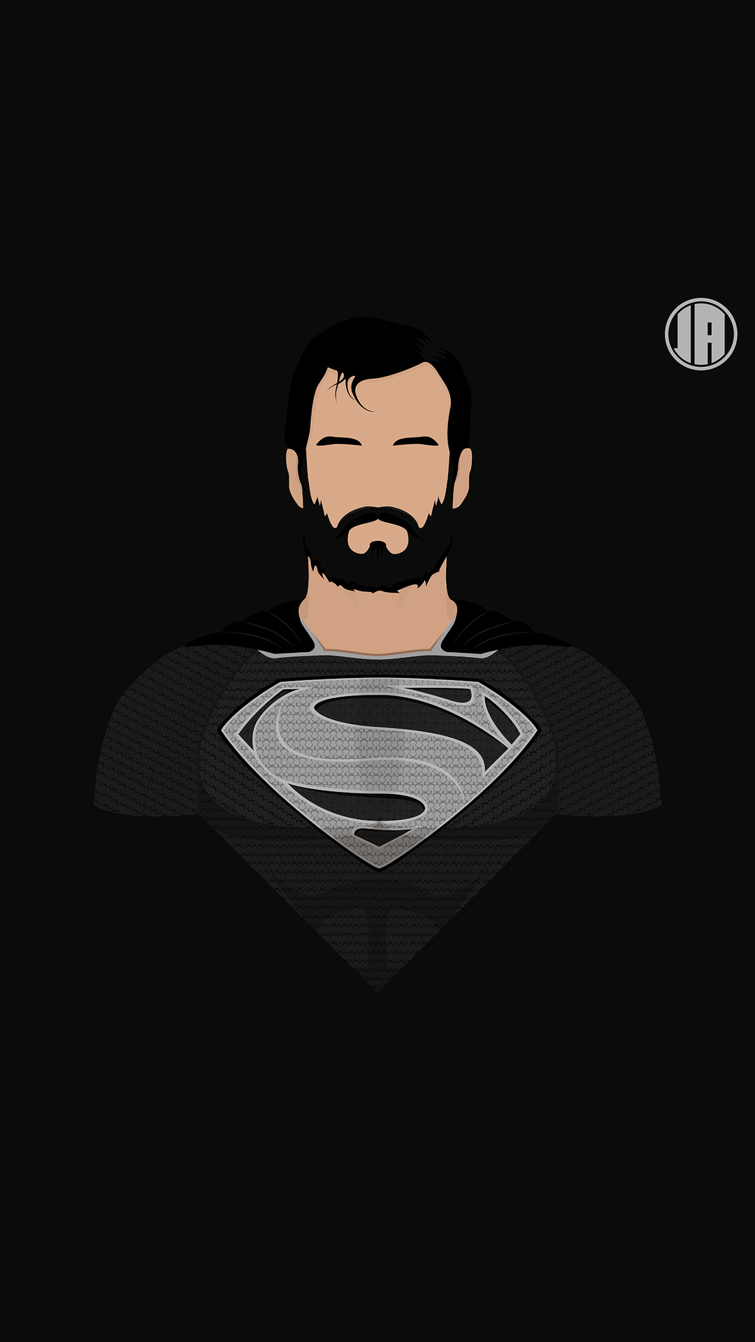 1080x1920 Superman Dceu Minimalism 8k Iphone 7 6s 6 Plus Pixel Xl