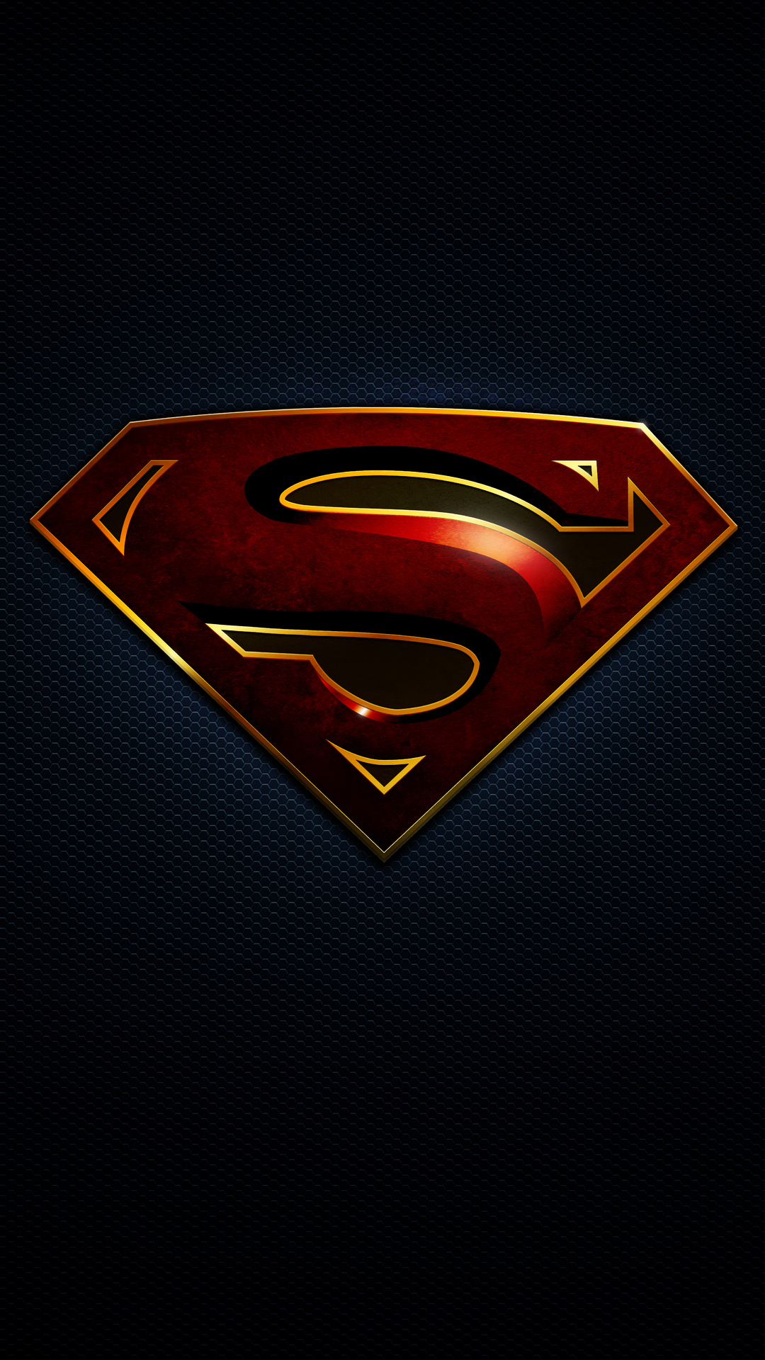 1080x1920 Superman Logo 10k Iphone 7 6s 6 Plus Pixel Xl
