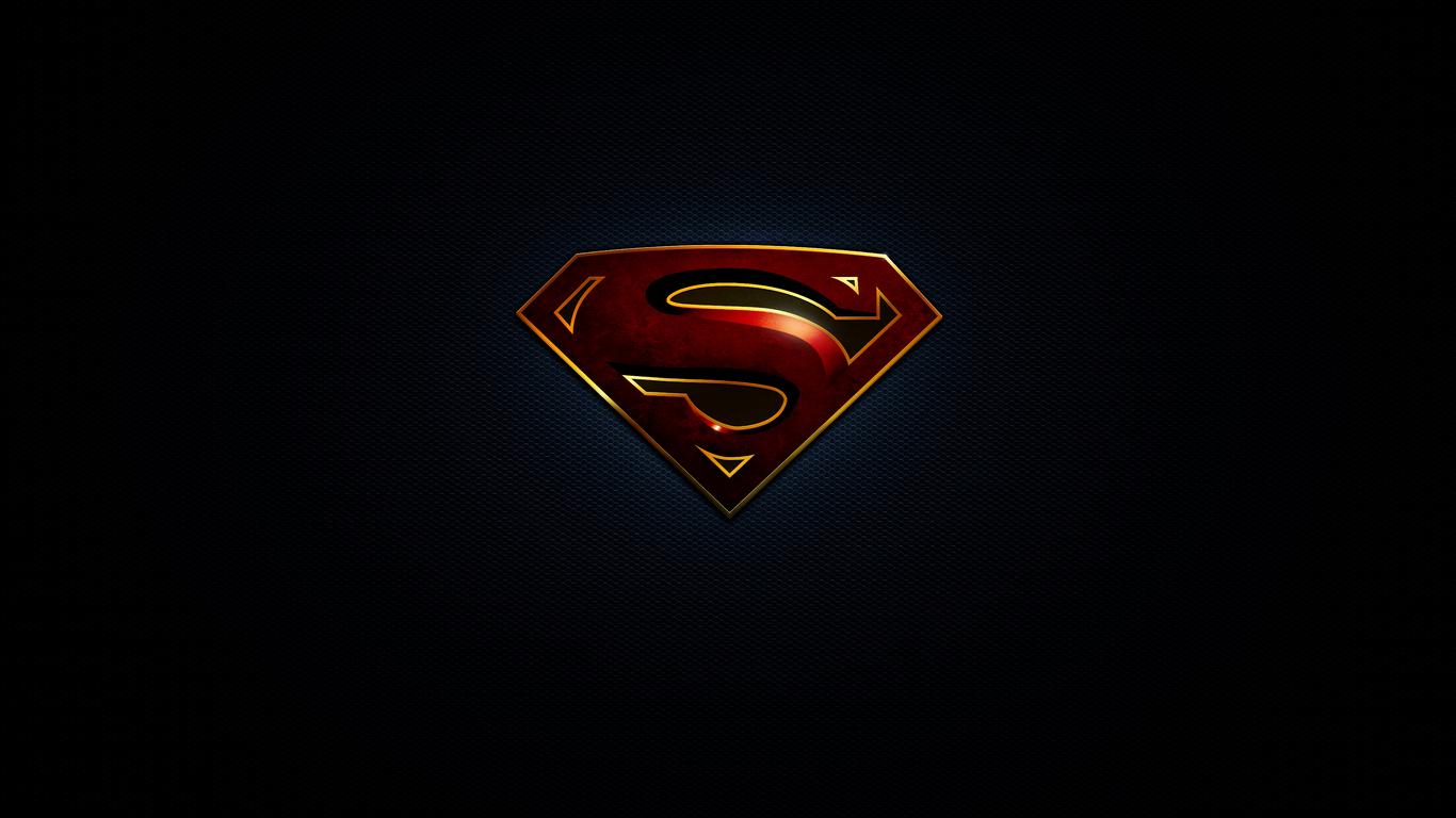 1366x768 Superman Logo 10k 1366x768 Resolution Hd 4k Wallpapers