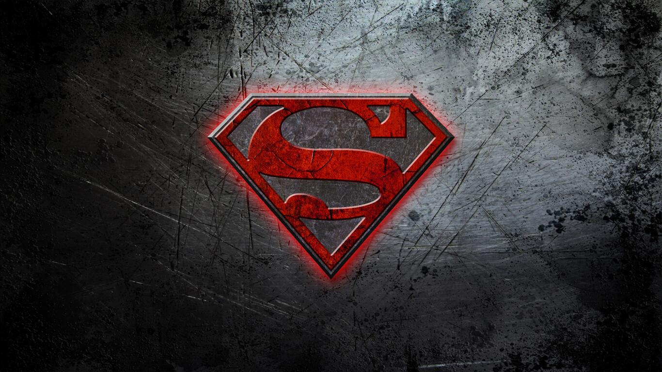 1366x768 Superman Logo 4k 1366x768 Resolution Hd 4k Wallpapers