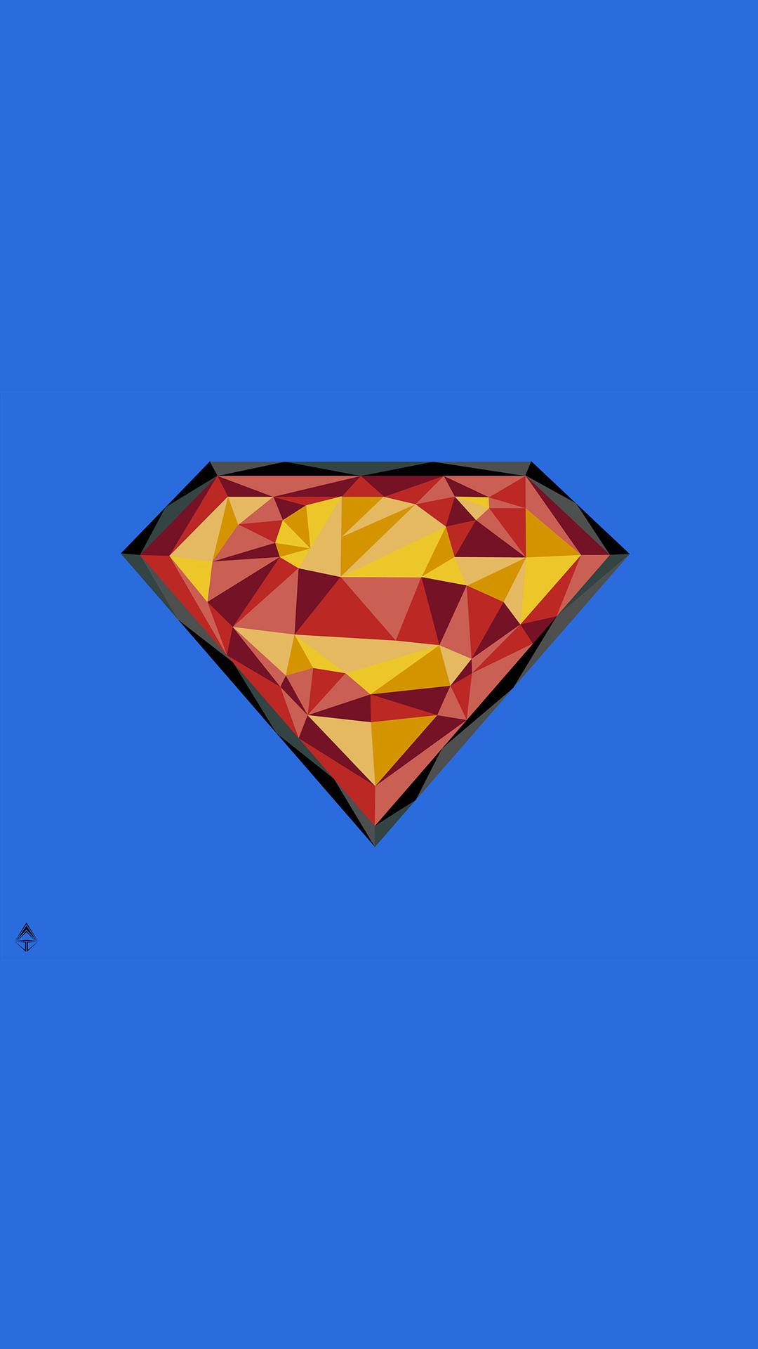 1080x1920 Superman Logo 4k Art Iphone 7 6s 6 Plus Pixel Xl