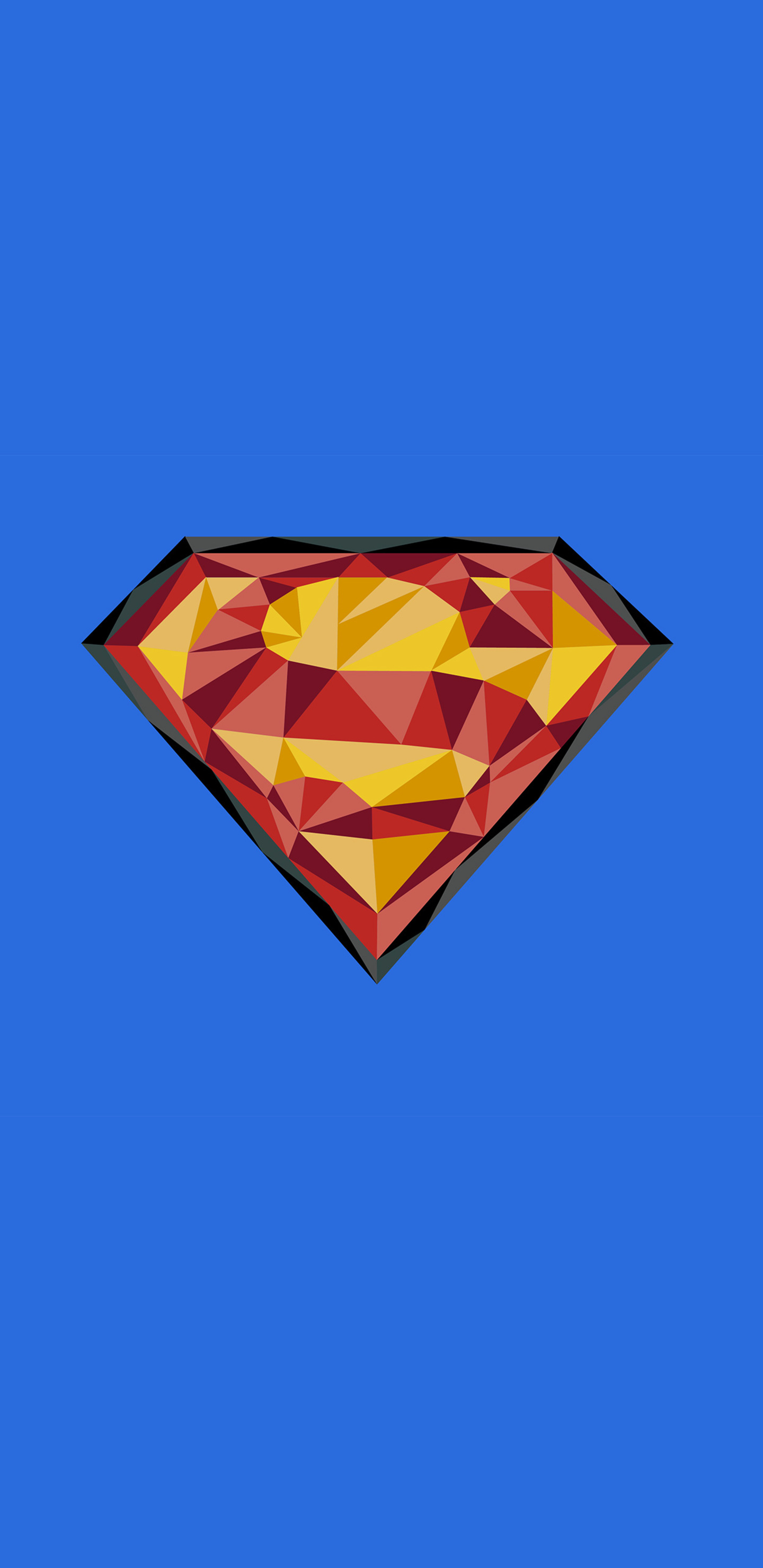 Superman Logo 4k Art Gd