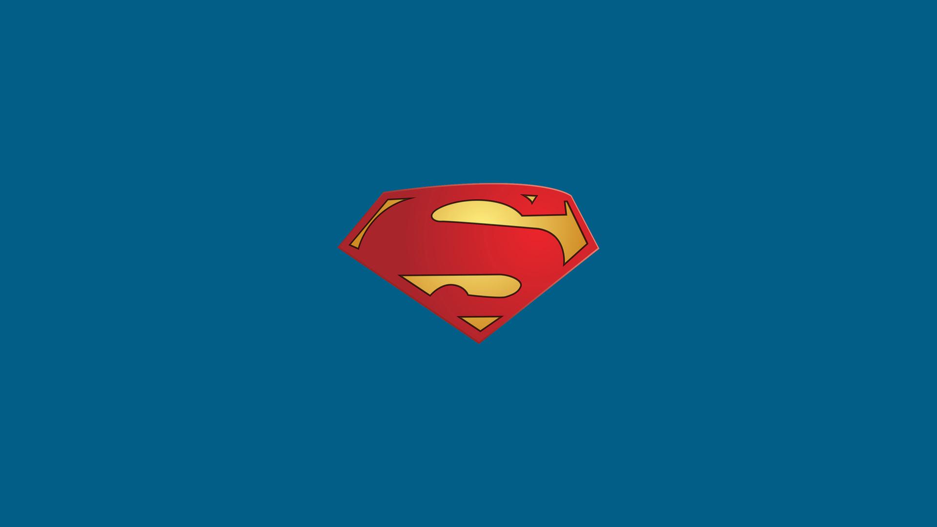 1920x1080 superman logo minimal laptop full hd 1080p hd 4k superman logo minimal sug voltagebd Choice Image