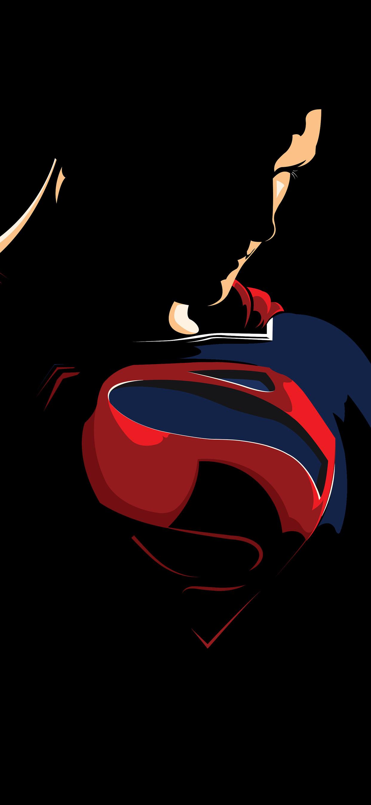 1242x2688 Superman Minimalism Logo 4k Iphone Xs Max Hd 4k