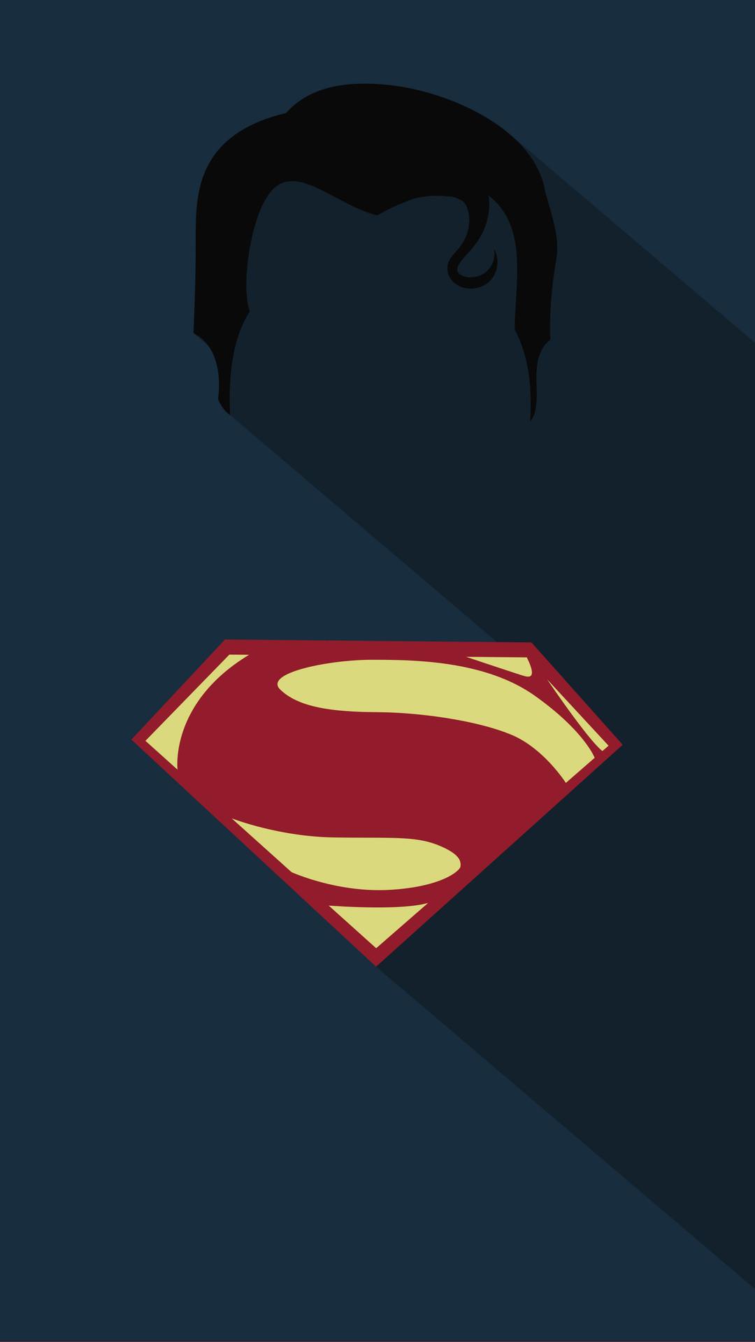 Superman Minimalism Poster Img