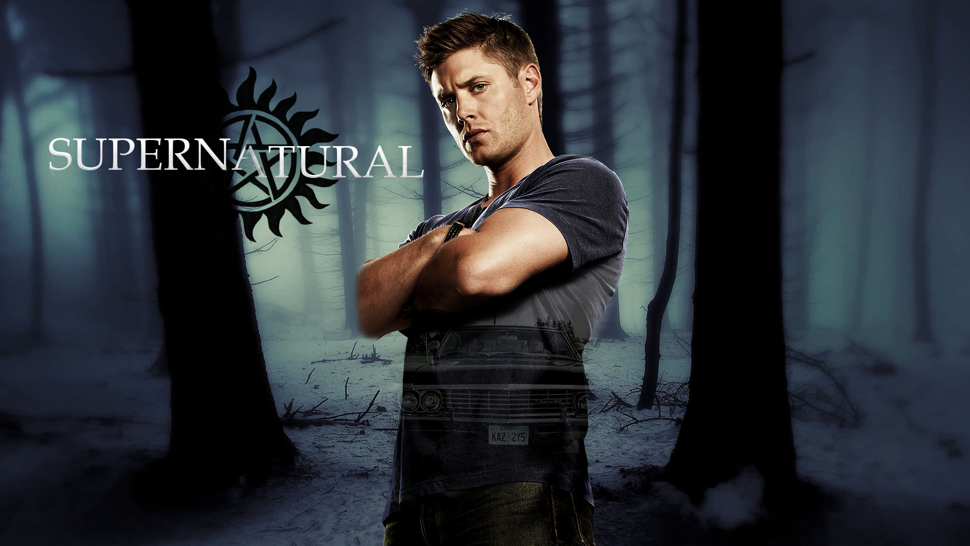 1920x1080 Supernatural Tv Series Laptop