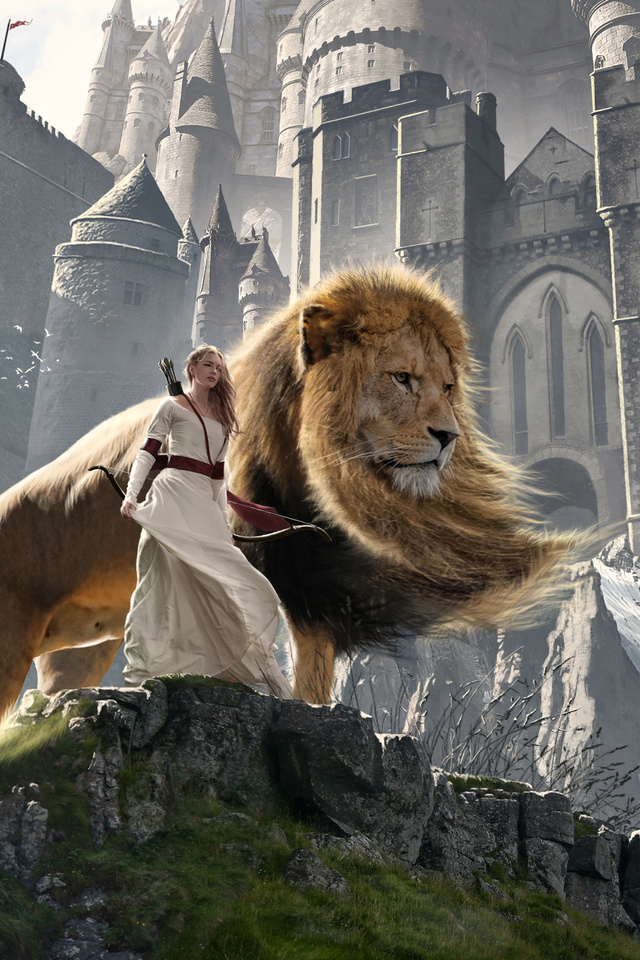 640x960 Susan And Aslan The Chronicles Of Narnia Extended Iphone 4