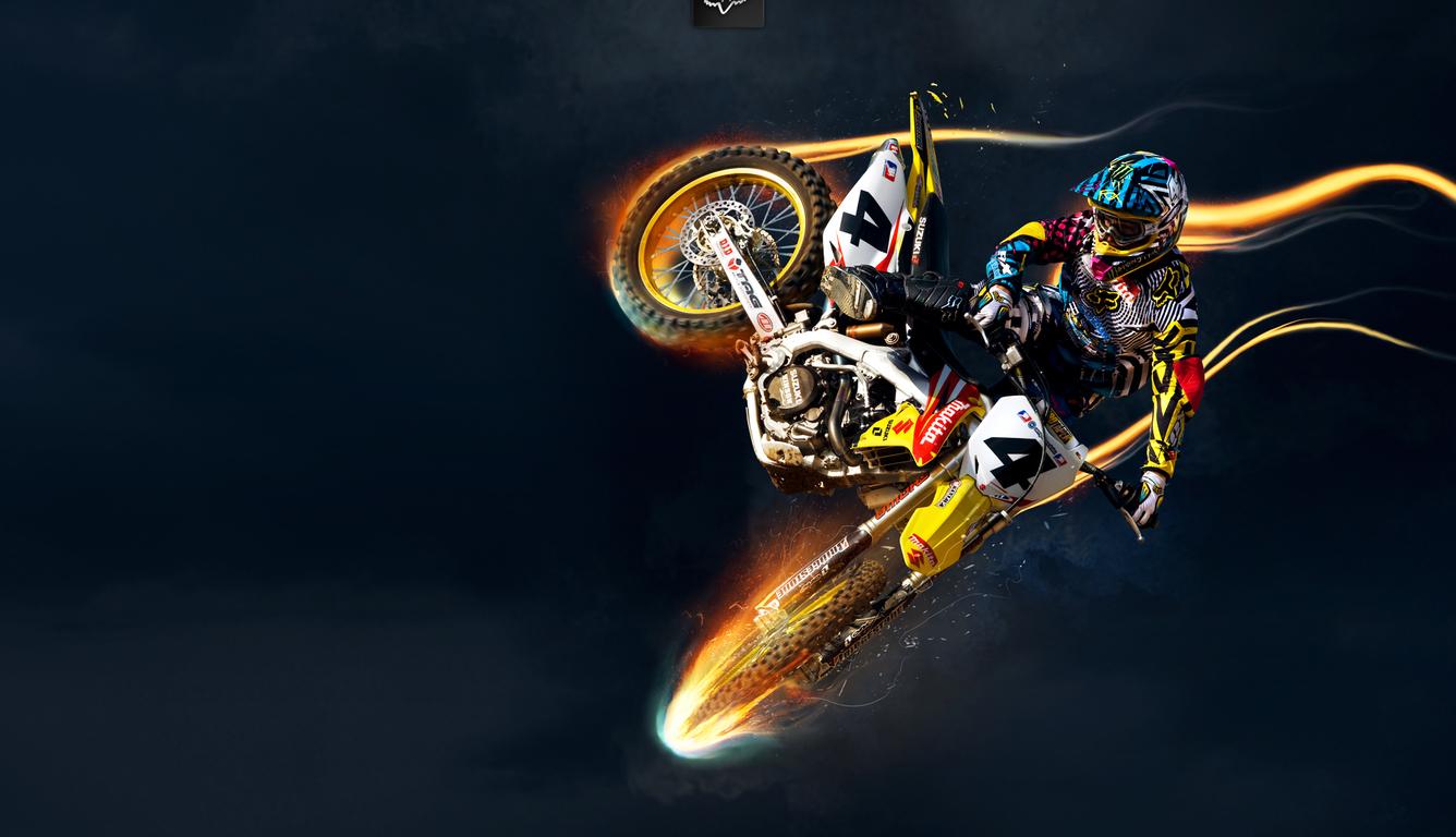 1336x768 Suzuki Bike Stunts Laptop Hd Hd 4k Wallpapers Images