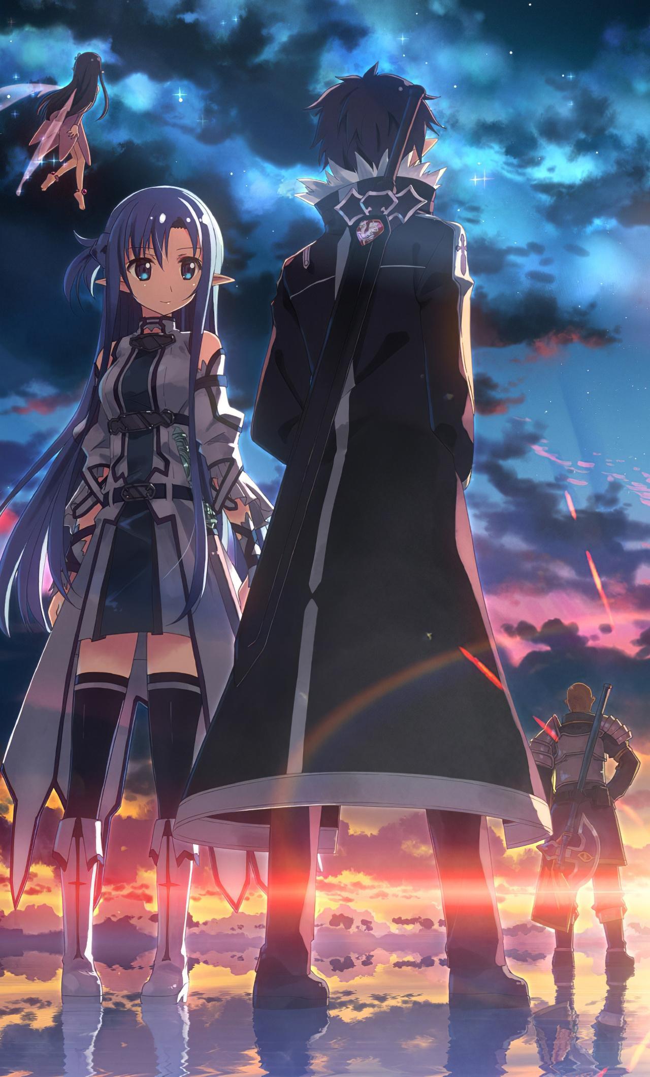 1280x2120 Sword Art Online Anime 4k Iphone 6 Hd 4k