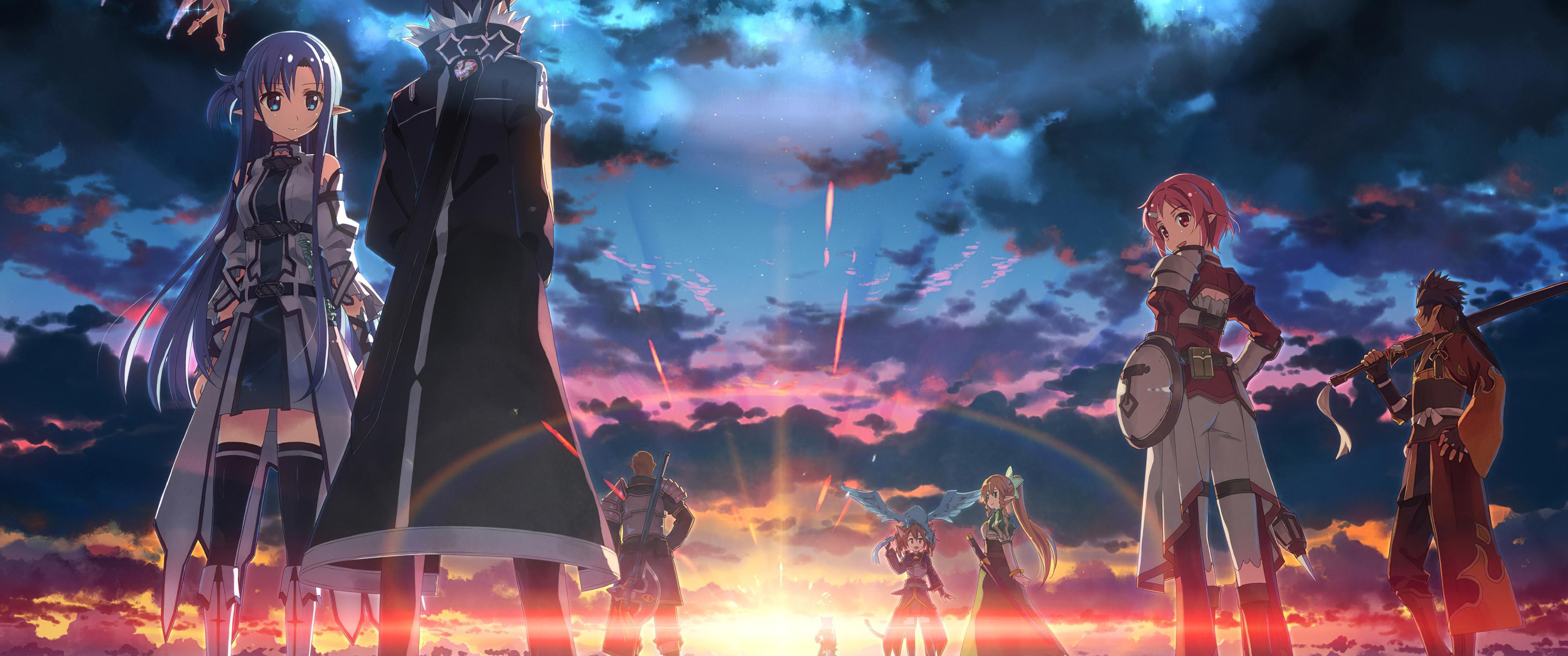 3440x1440 Sword Art Online Anime 4k 3440x1440 Resolution Hd 4k