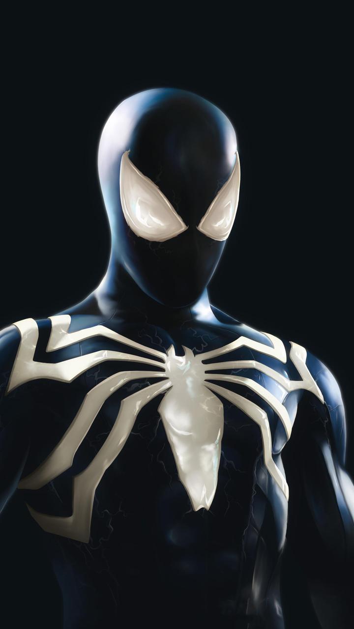 720x1280 Symbiote Spider Man Suit 4k Moto G,X Xperia Z1,Z3 ...