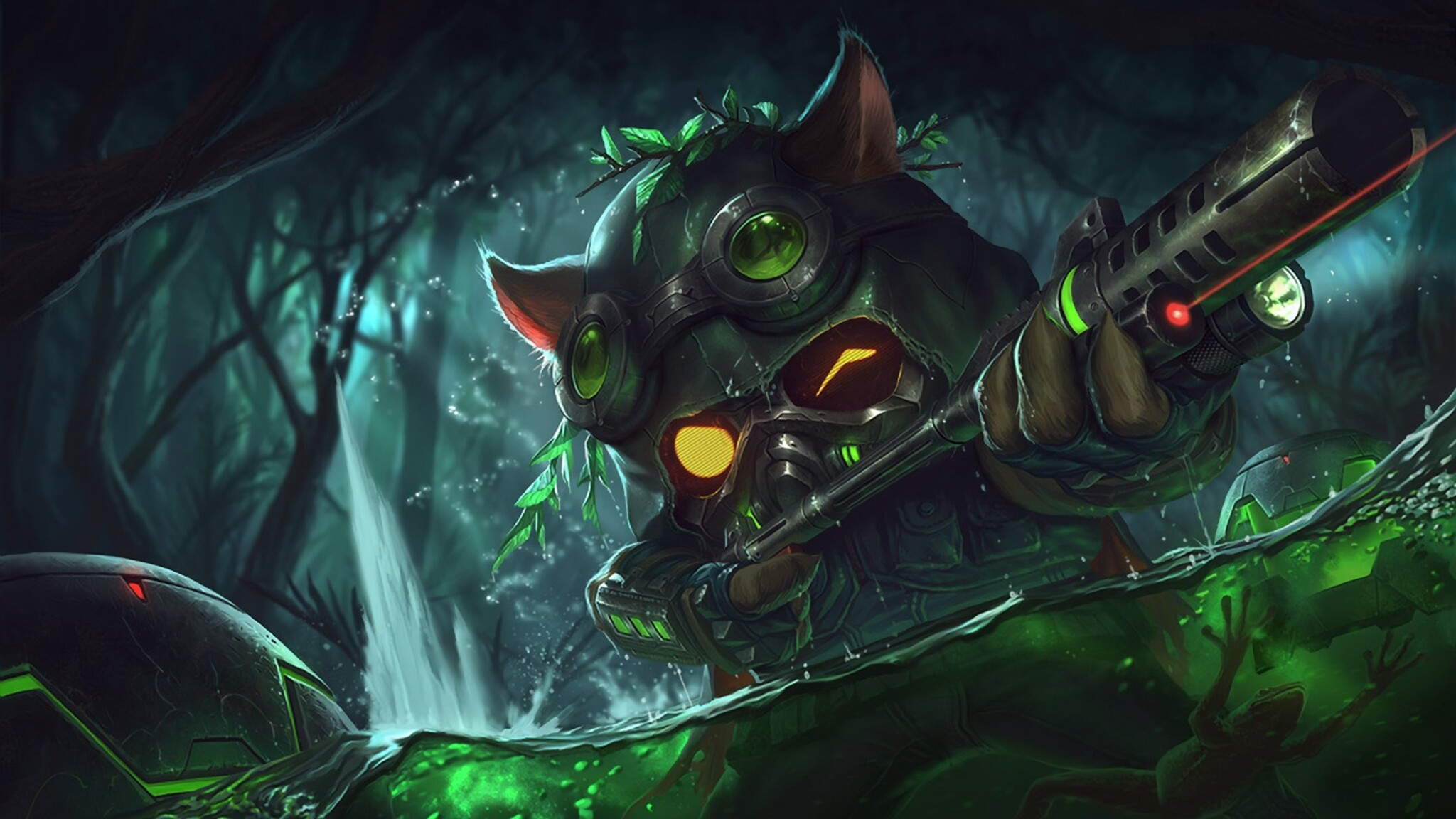 2048x1152 Teemo League Of Legends 2048x1152 Resolution HD ...