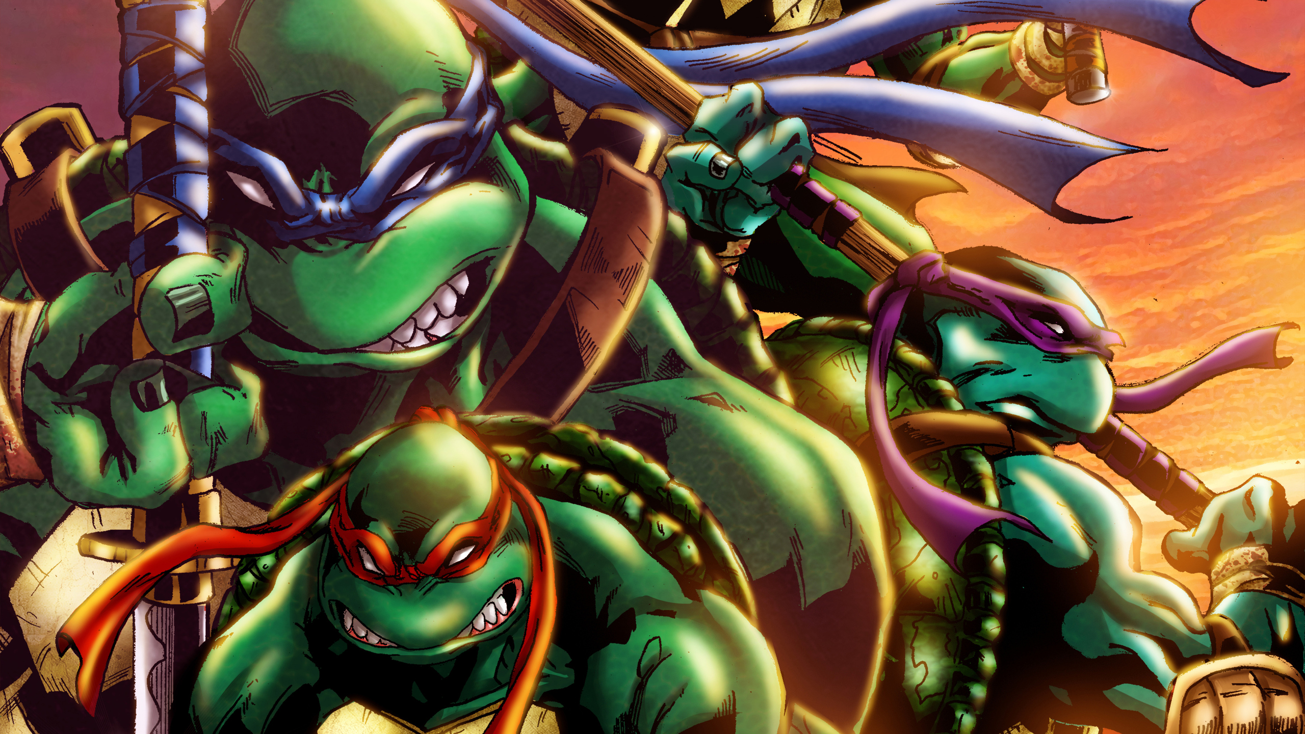 2560x1440 Teenage Mutant Ninja Turtles Art 1440p Resolution Hd 4k