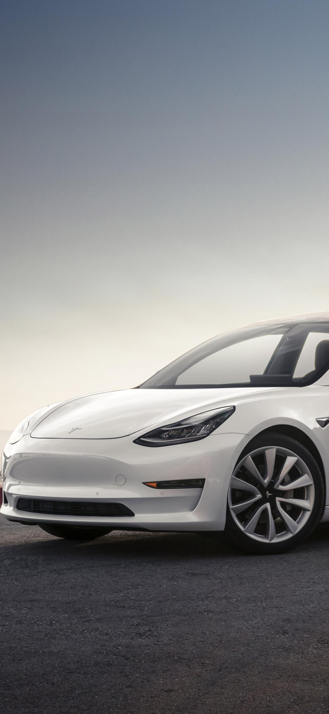 1125x2436 Tesla Model 3 2017 Iphone Xs Iphone 10 Iphone X Hd