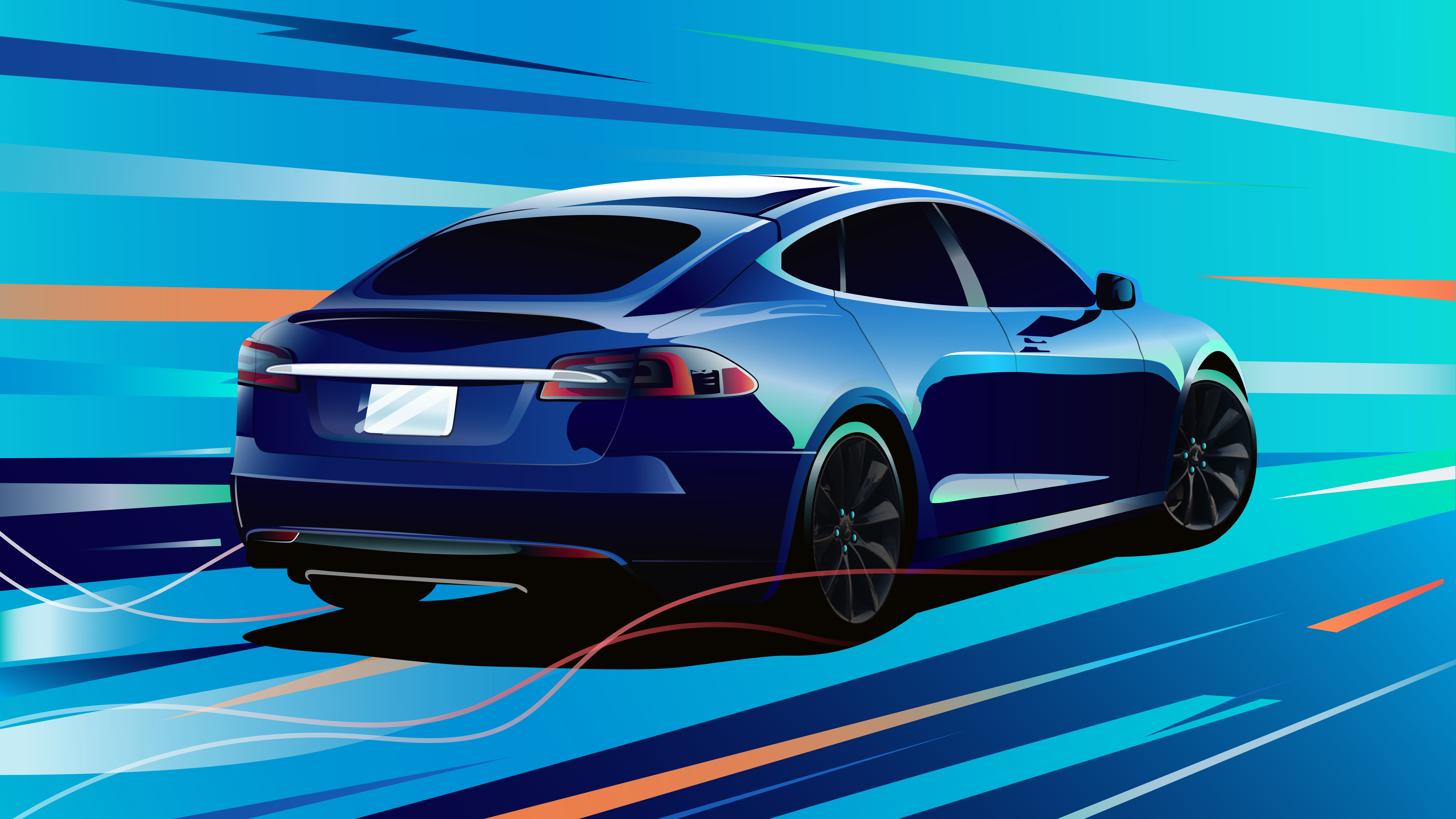 7680x4320 tesla model s 8k hd 4k wallpapers images backgrounds photos and pictures - Tesla wallpaper android ...