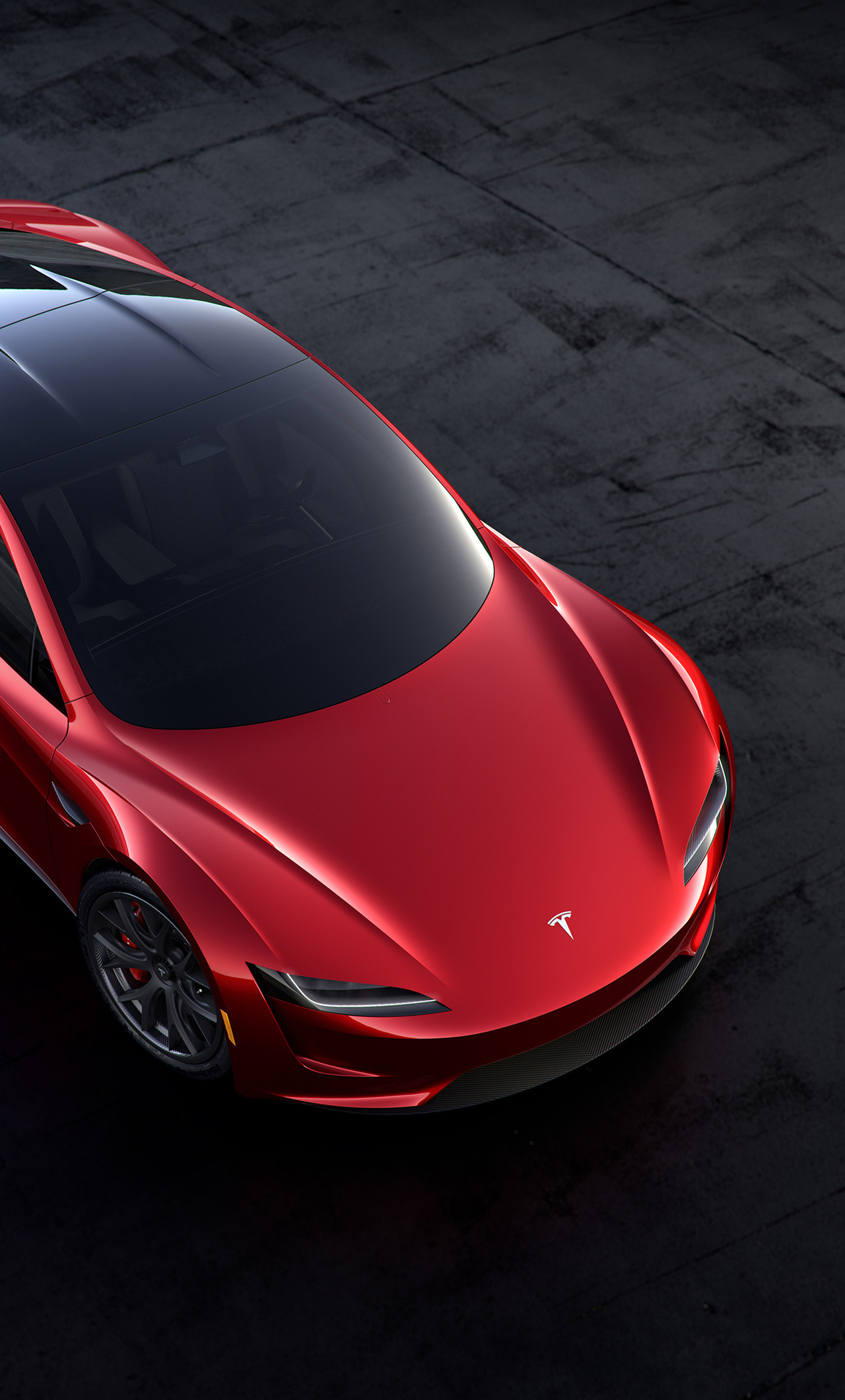 1280x2120 tesla roadster 2018 iphone 6 hd 4k wallpapers images backgrounds photos and pictures - Tesla wallpaper android ...