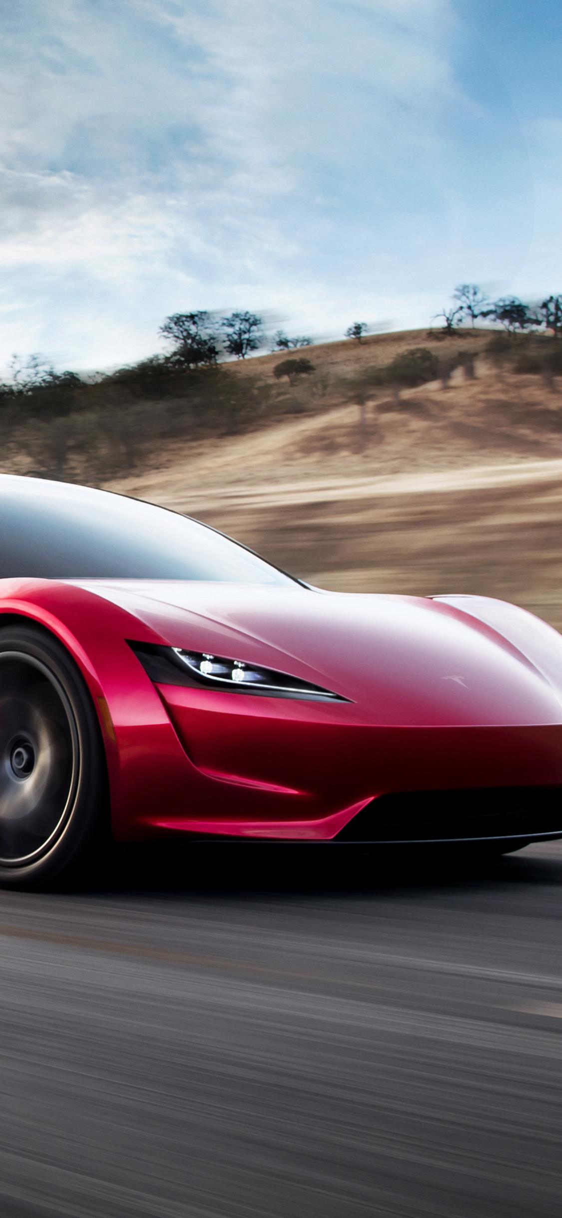 1125x2436 Tesla Roadster 4k Iphone XS,Iphone 10,Iphone X ...