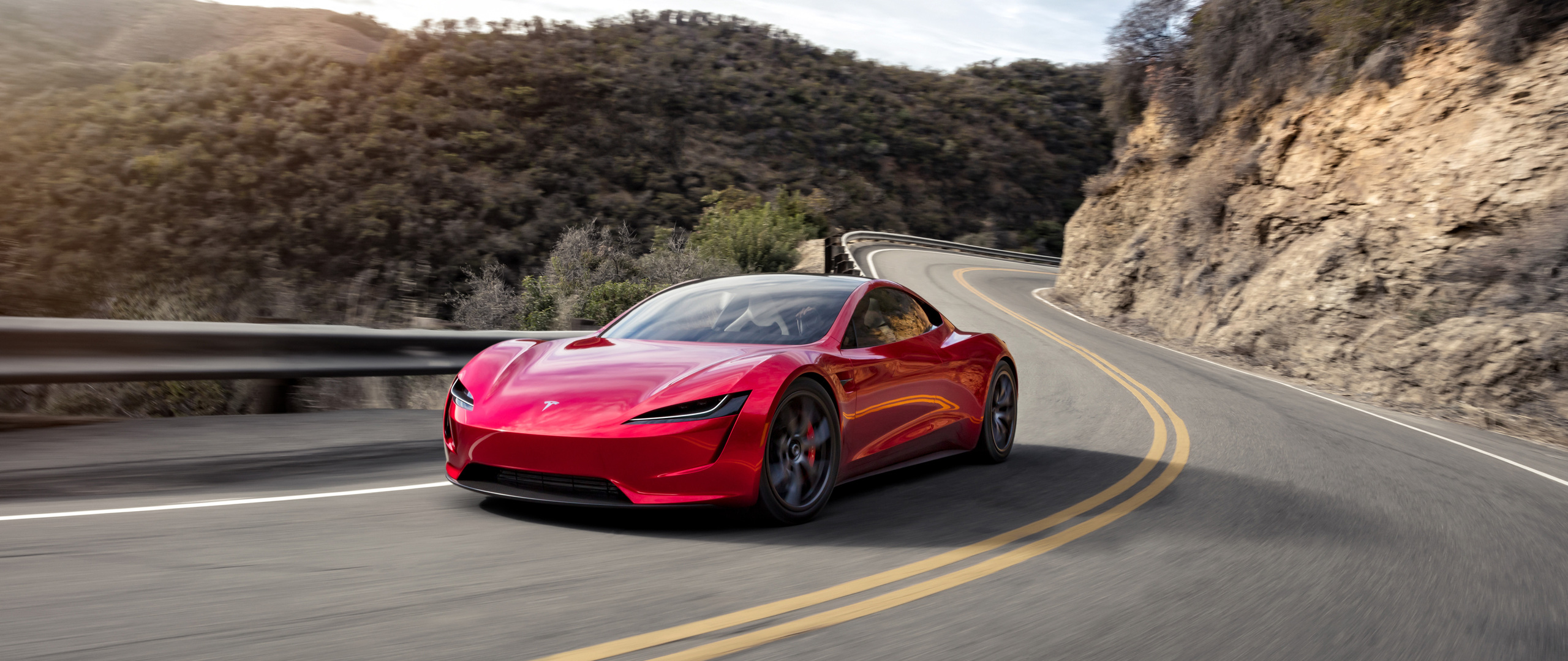 2560x1080 Tesla Roadster Fastest Electric Car 2560x1080
