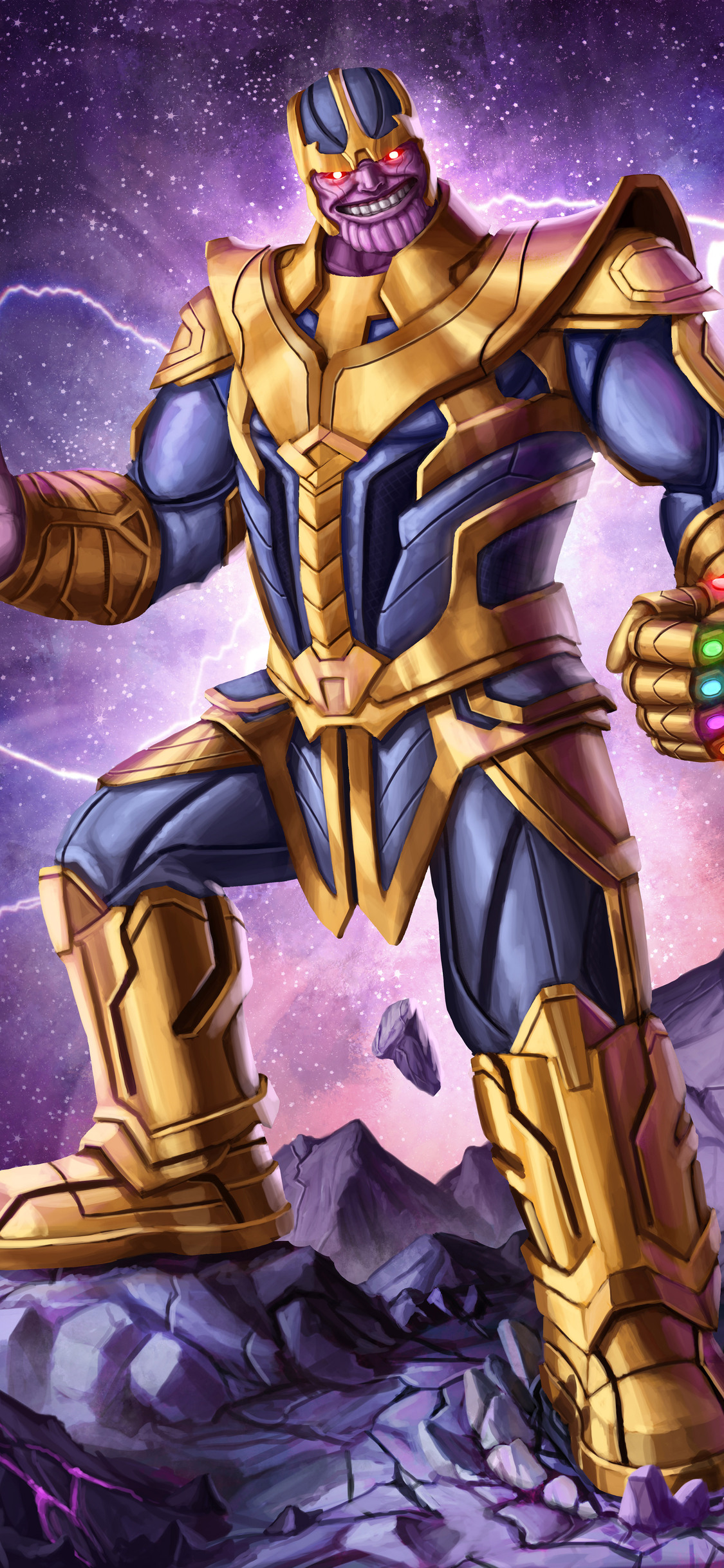 1125x2436 Thanos 4k Arts Iphone Xsiphone 10iphone X Hd 4k