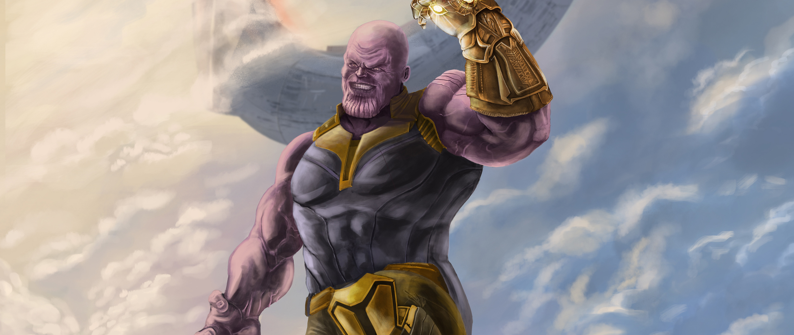 2560x1080 Thanos 4k Artwork 2019 2560x1080 Resolution Hd 4k