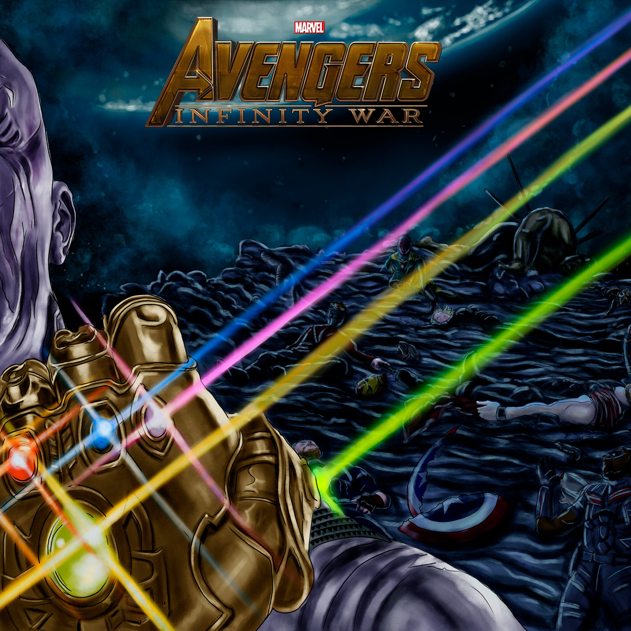 2048x2048 Thanos Always Wins Ipad Air HD 4k Wallpapers, Images, Backgrounds, Photos and Pictures