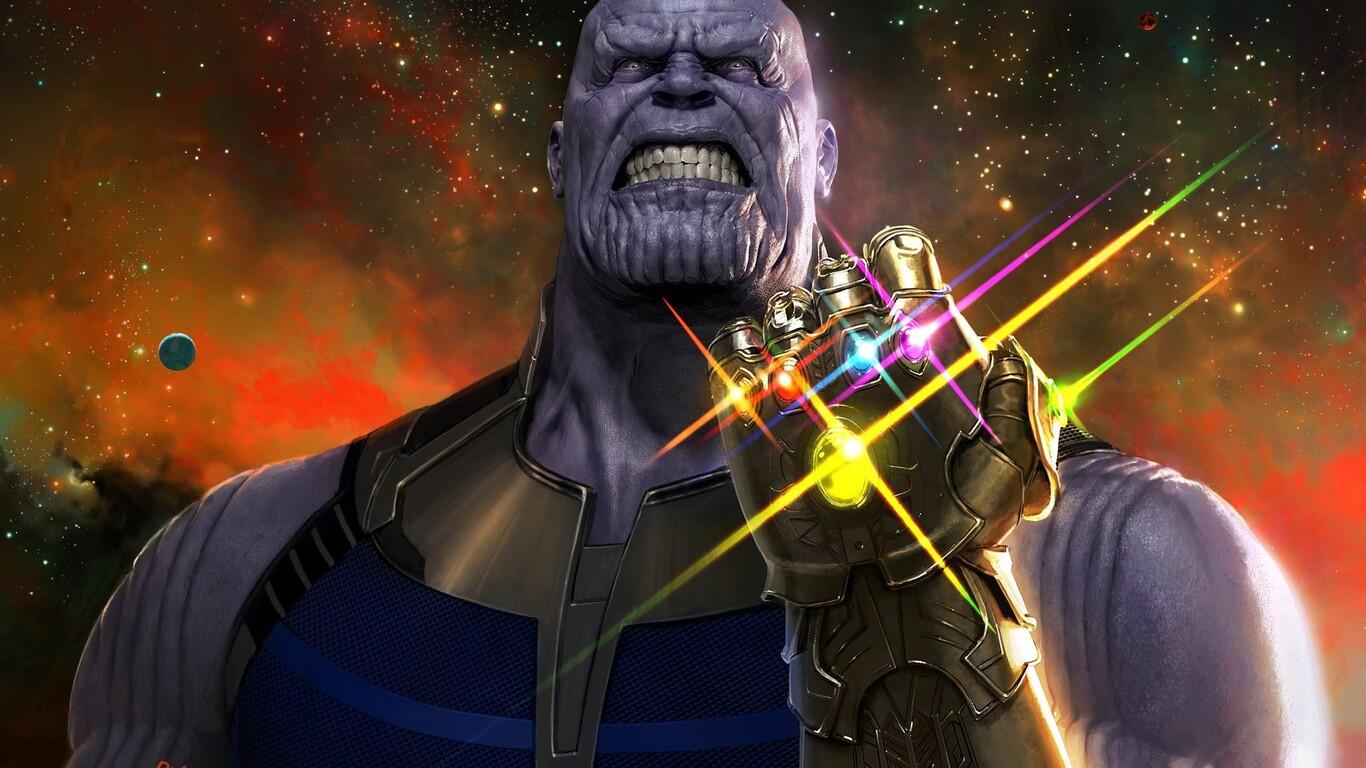 Thanos Wallpaper 1366×768