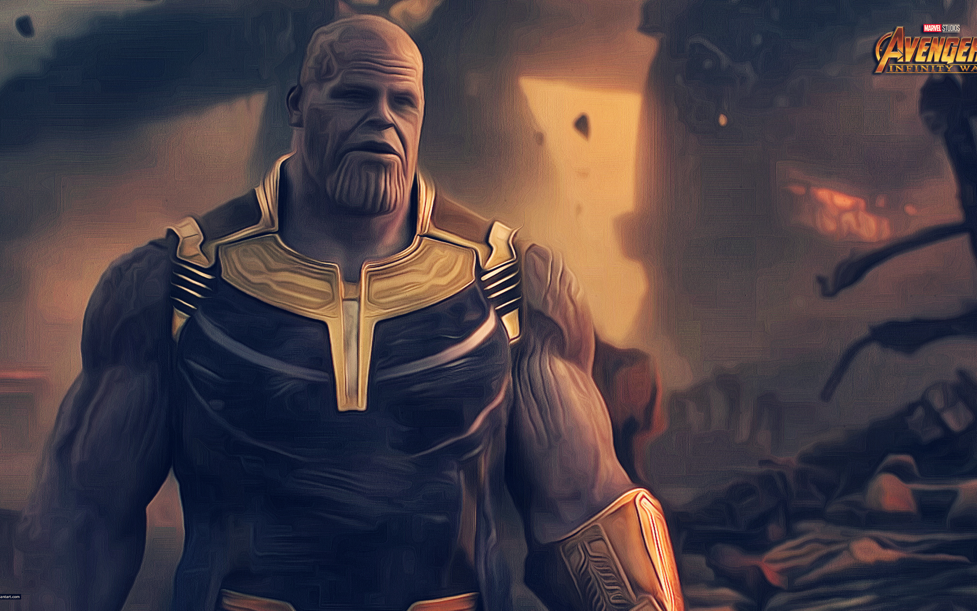 3840x2400 thanos avengers infinity war 2018 4k artwork 4k hd 4k wallpapers images backgrounds - Infinity war hd download ...